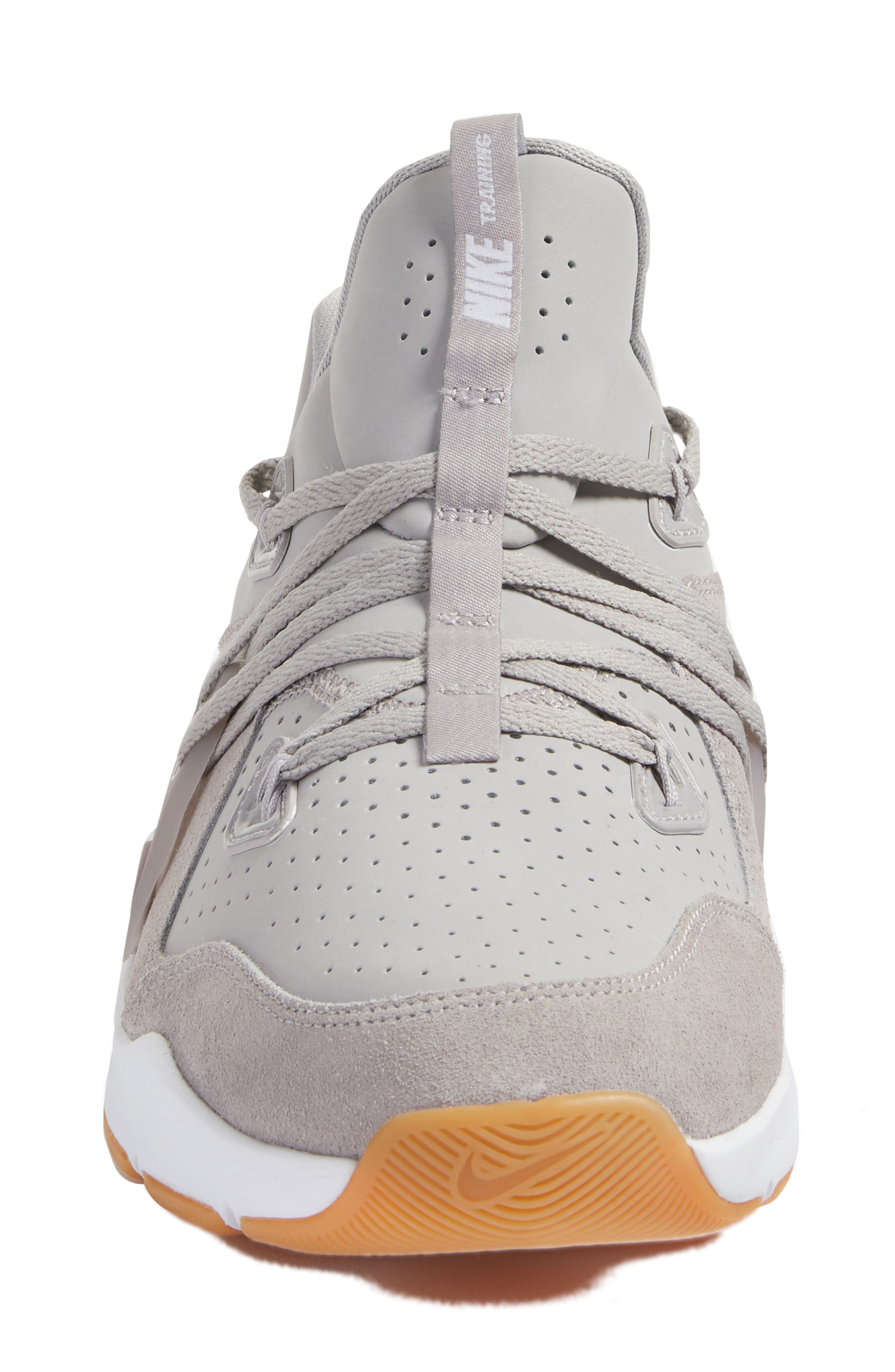 Zoom Train Command Training Shoe,                             Alternate thumbnail 4, color,                             Atmosphere Grey/ White/ Brown