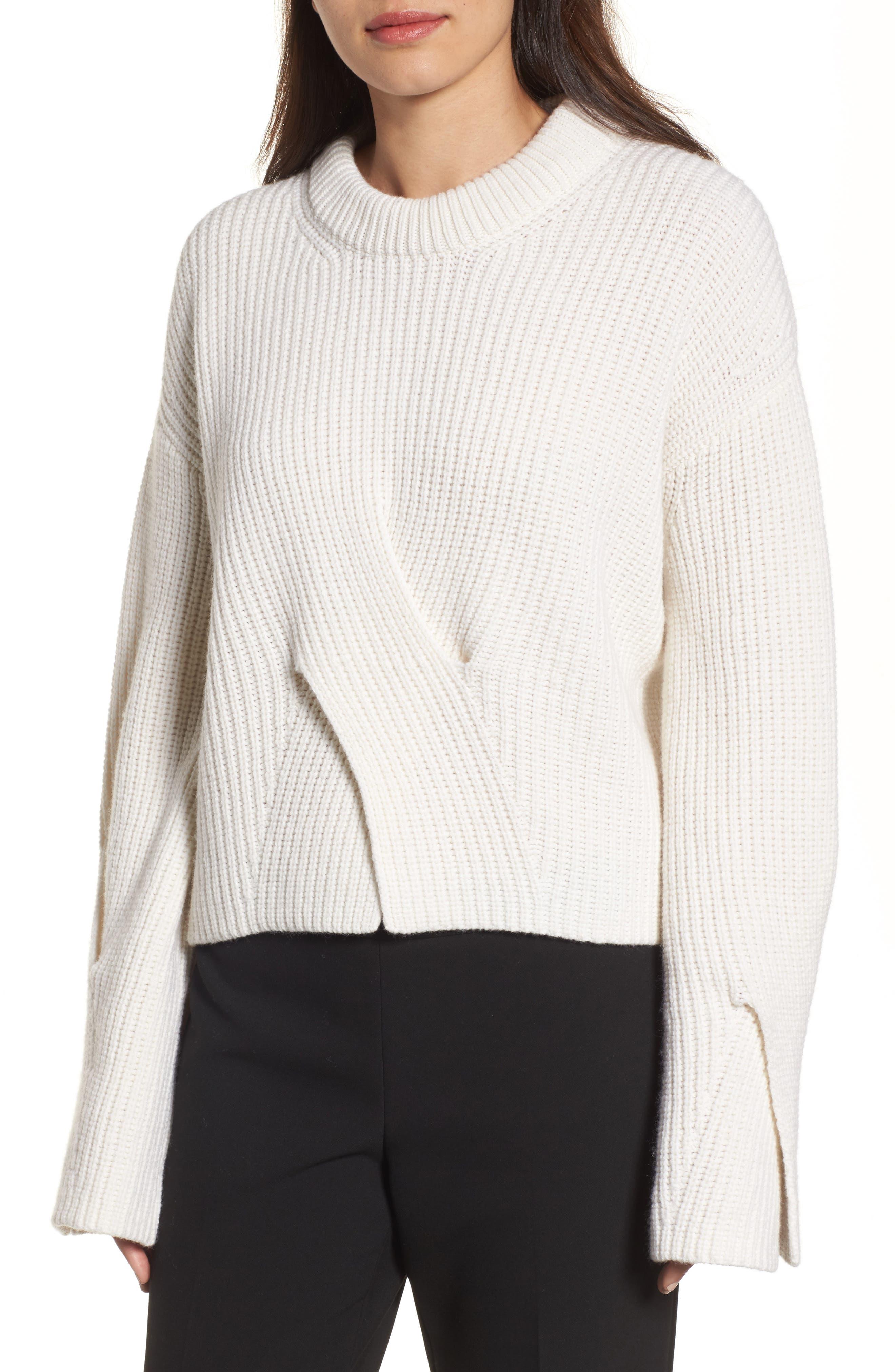 BOSS Fihra Wool Blend Sweater