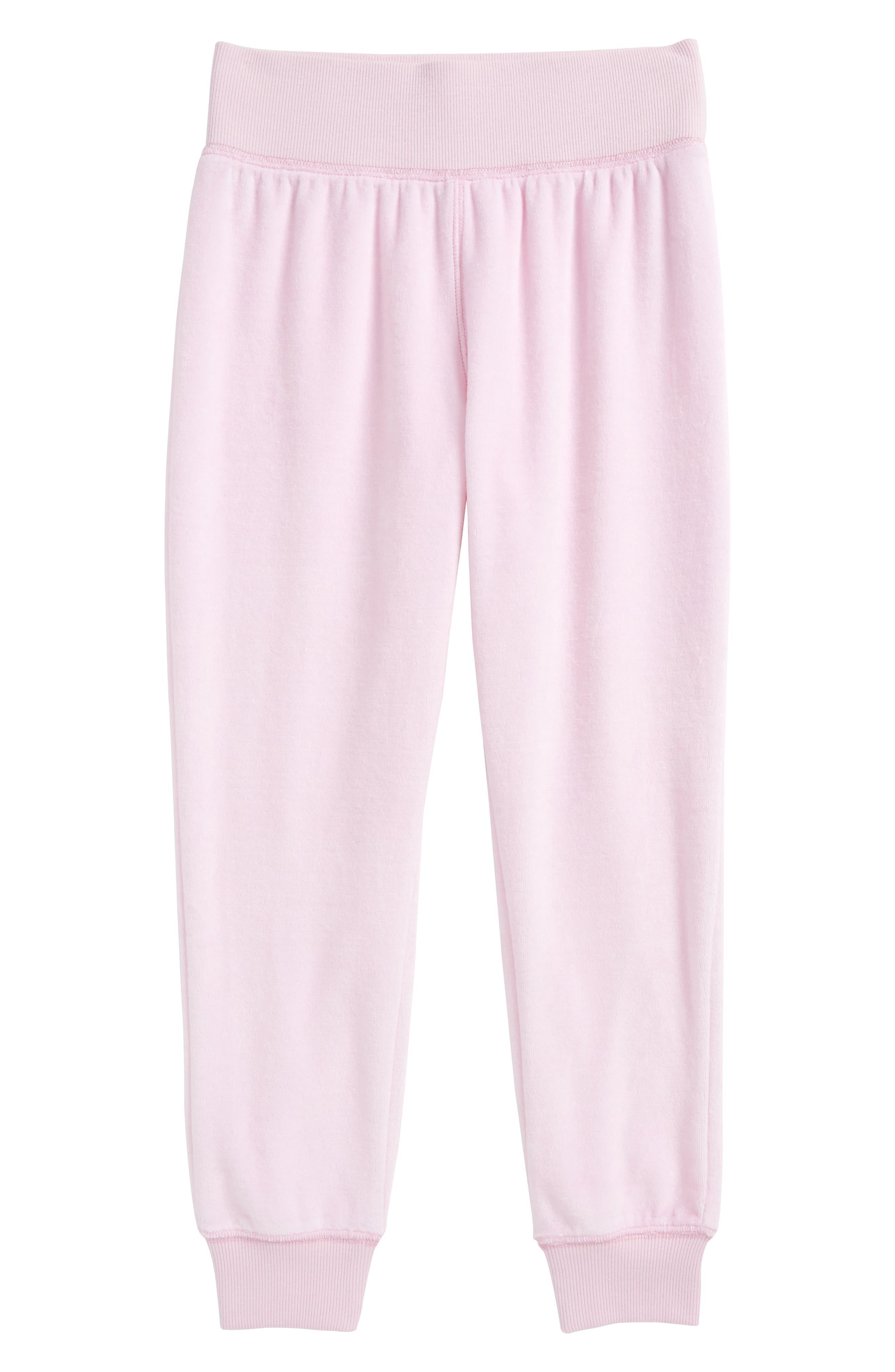 Zella High Waist Velour Jogger Pants (Little Girls & Big Girls)