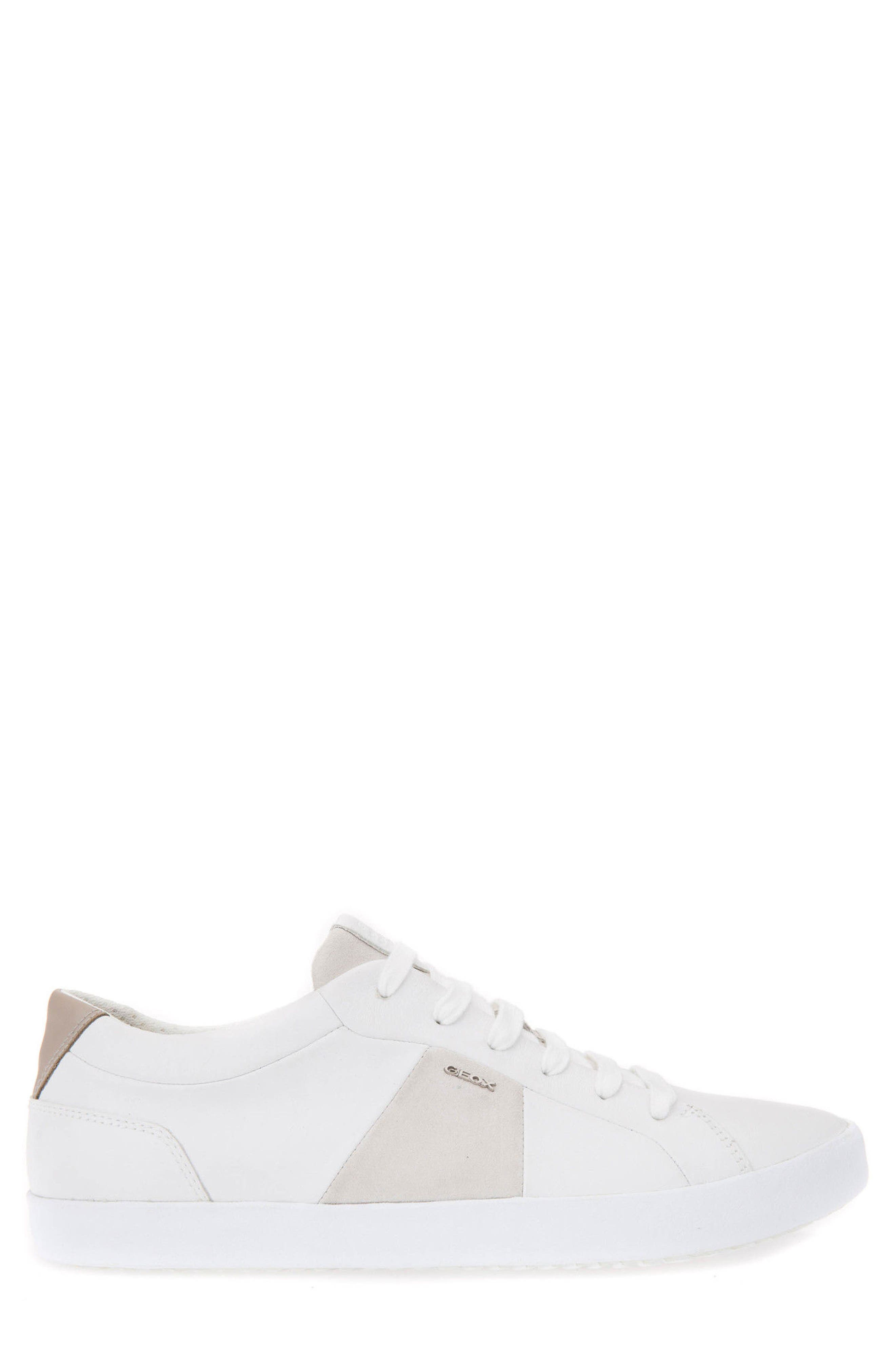 Smart 78 Sneaker,                             Alternate thumbnail 3, color,                             White/ Papyrus Leather