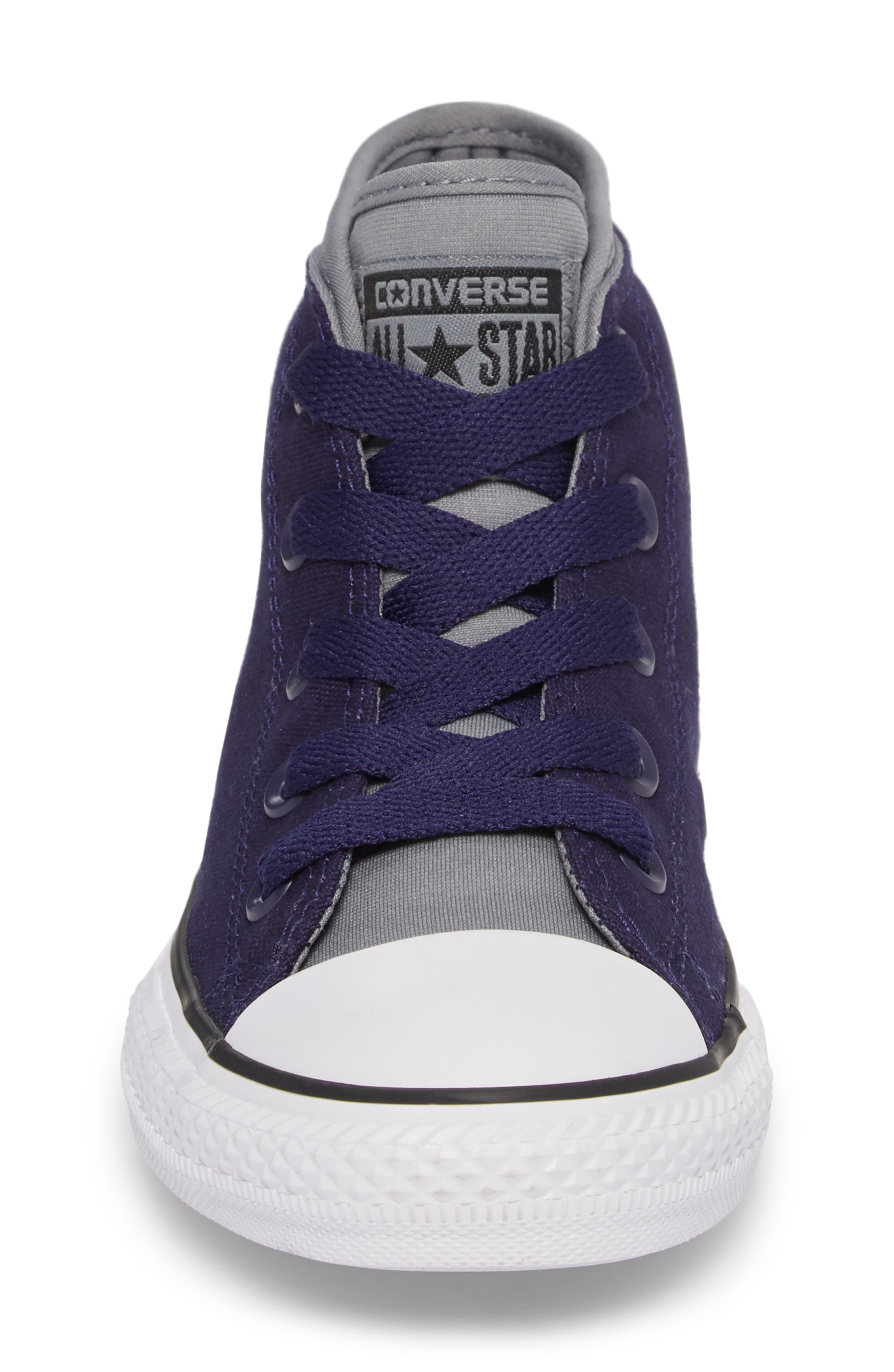 Chuck Taylor<sup>®</sup> All Star<sup>®</sup> Syde Street High Top Sneaker,                             Alternate thumbnail 4, color,                             Midnight Canvas