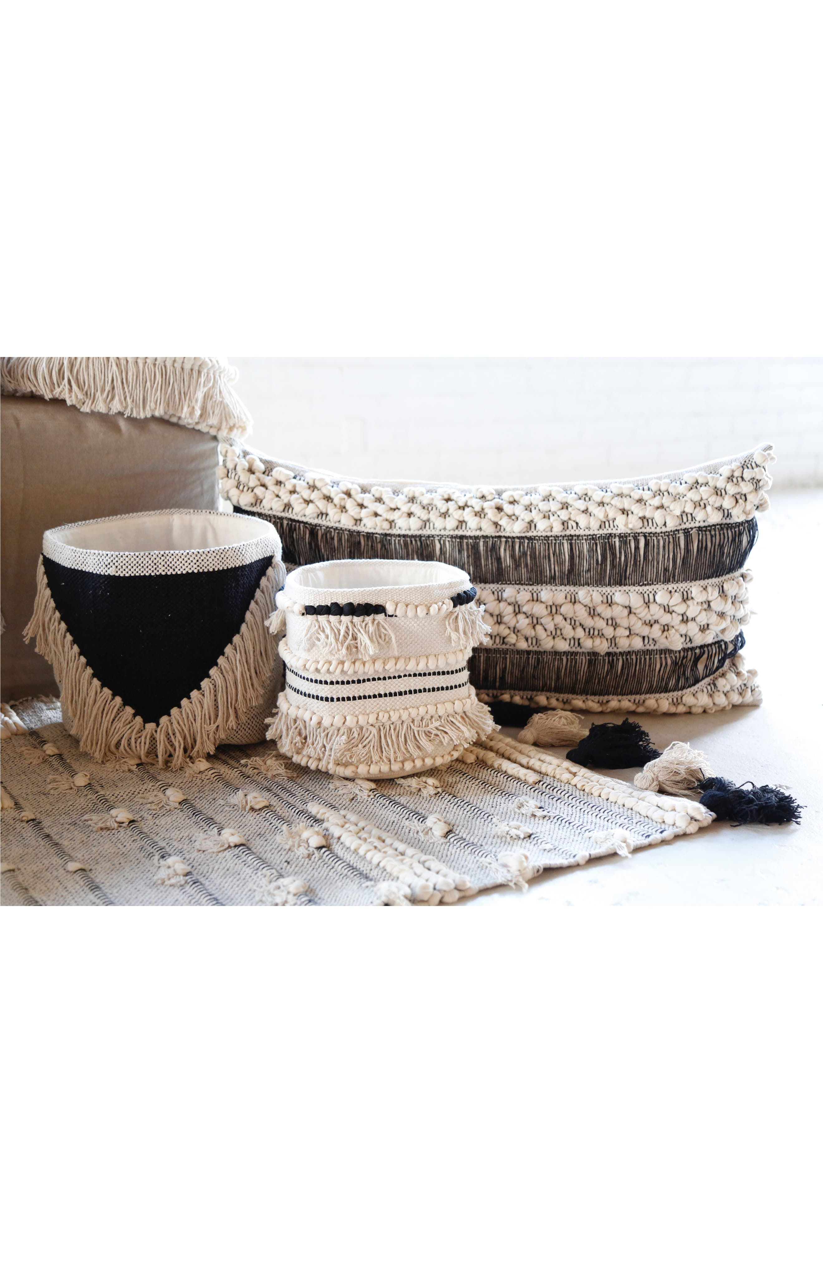 Alternate Image 2  - Pom Pom at Home Set of Two Woven Baskets