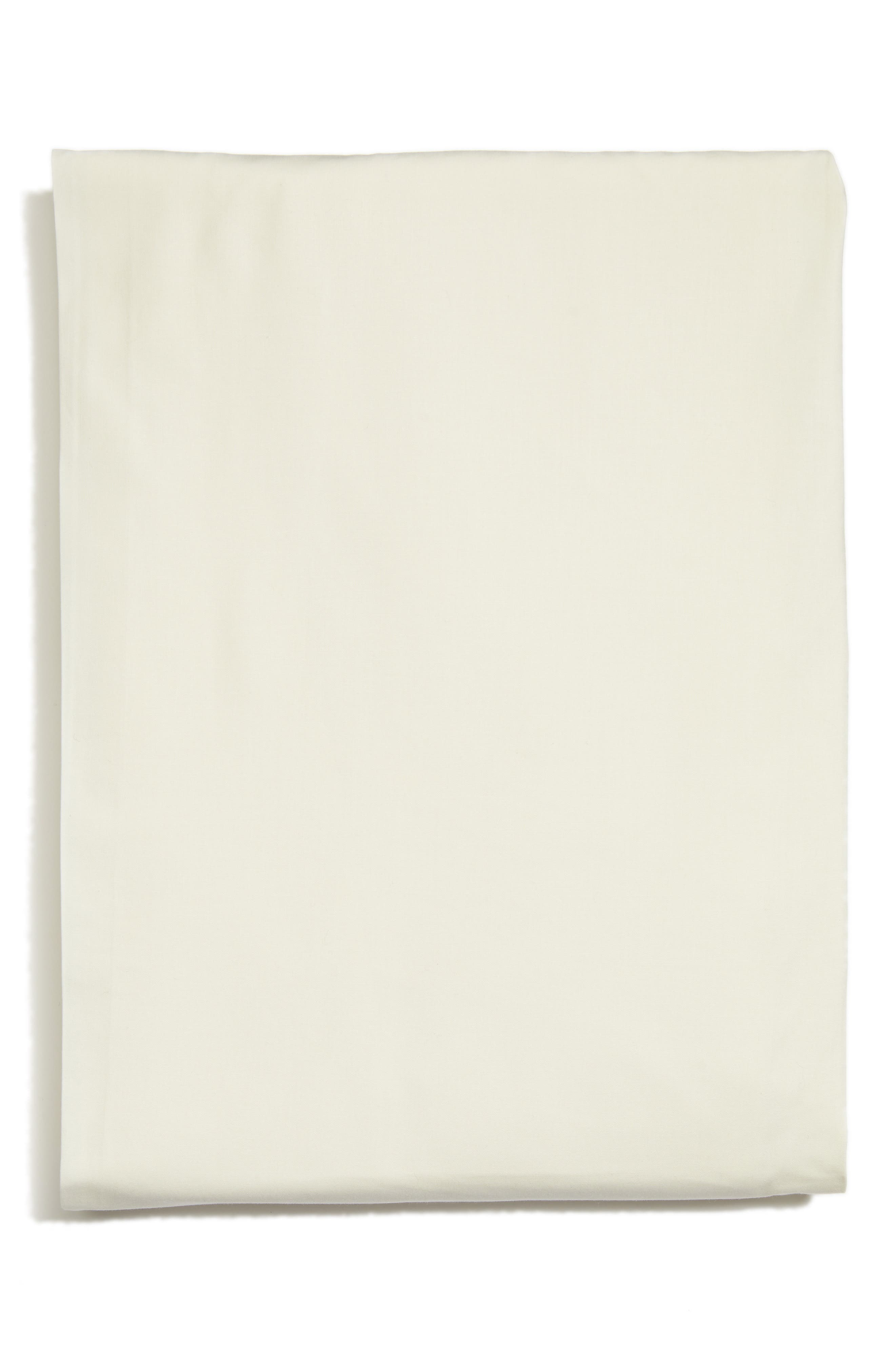 Grande Hotel Fitted Sheet,                             Main thumbnail 1, color,                             Ivory