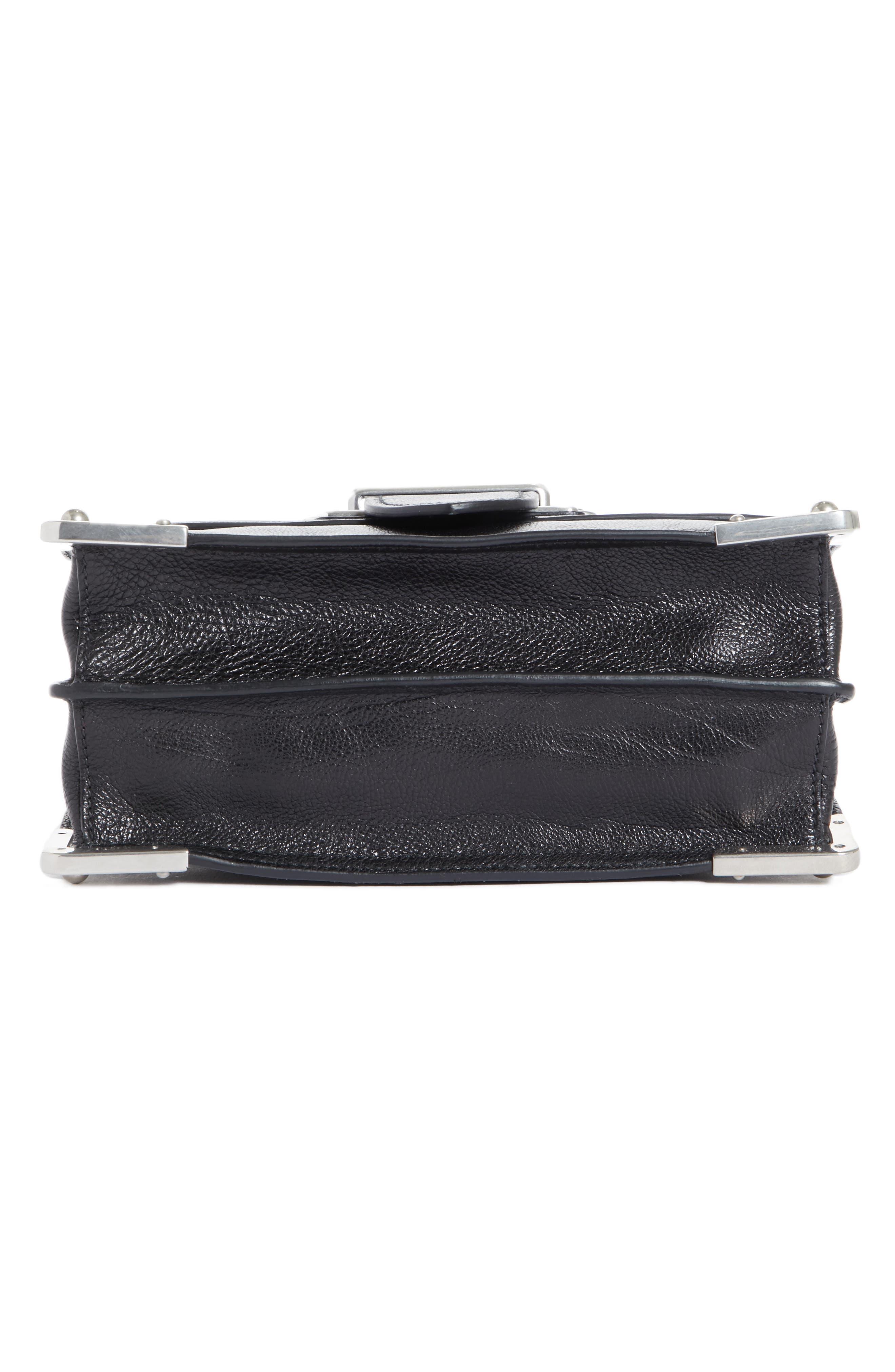 Alternate Image 6  - Prada Cahier Glace Calfskin Convertible Shoulder Bag