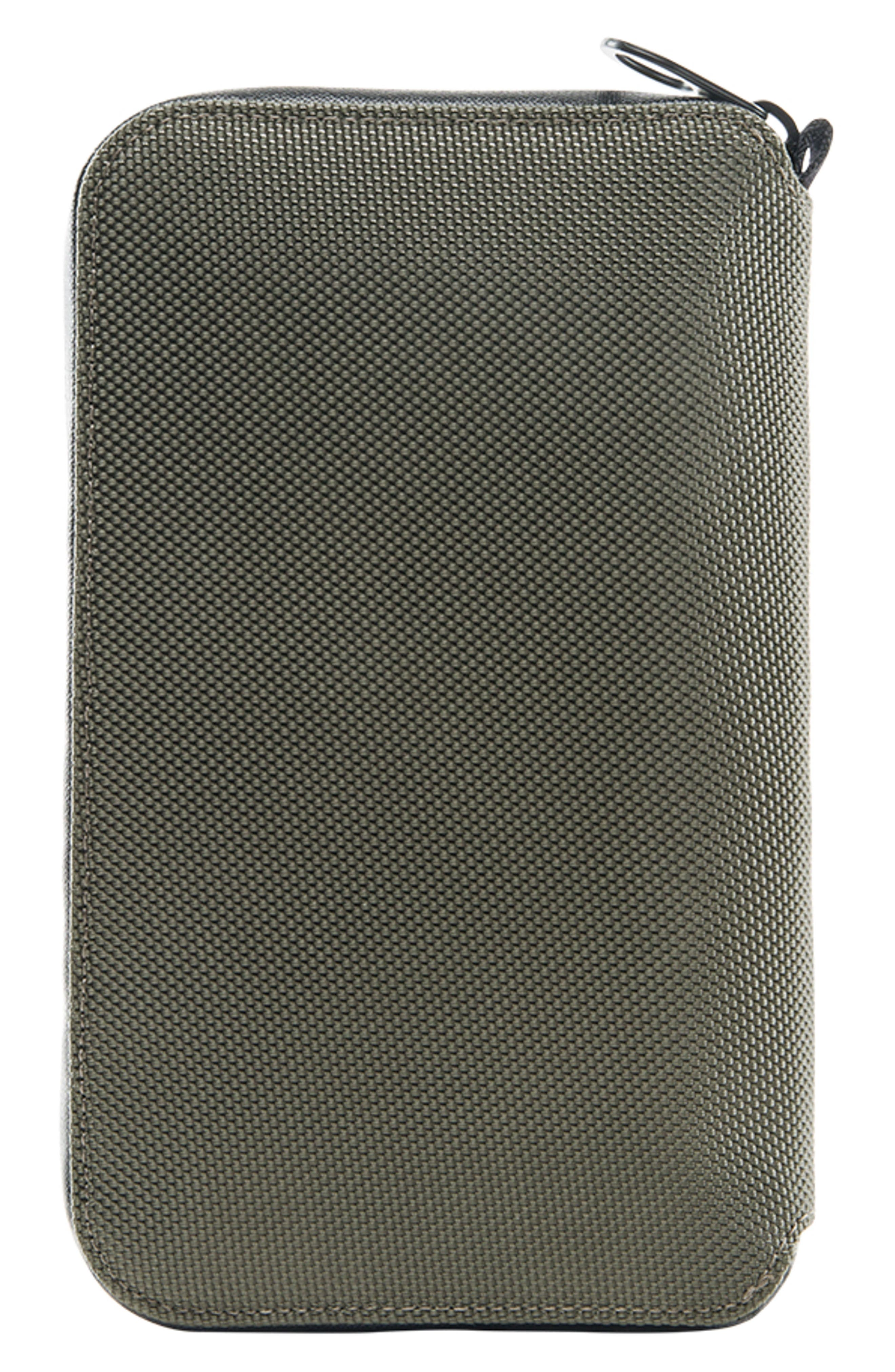 Zip Passport Wallet,                             Alternate thumbnail 5, color,                             Anthracite
