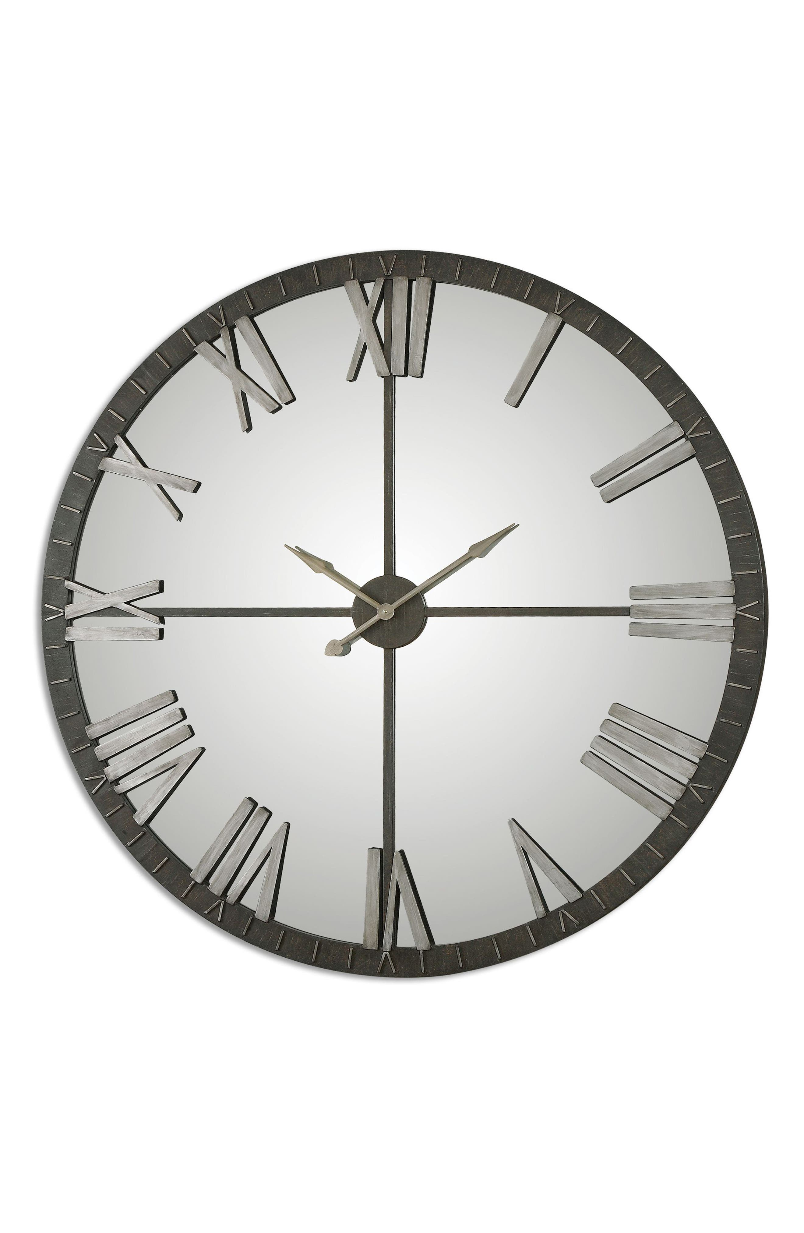 Amelie Wall Clock,                         Main,                         color, Grey