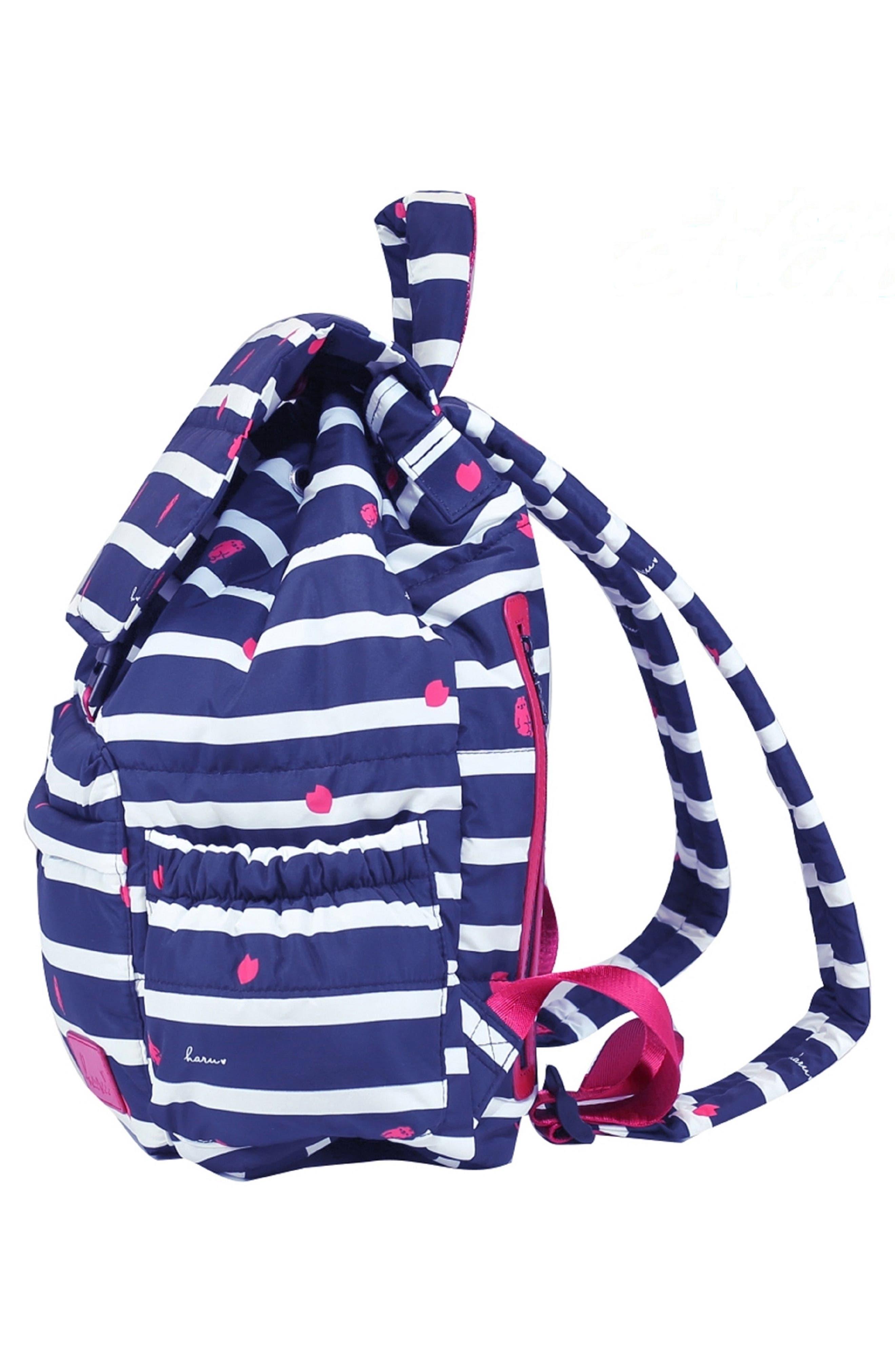 Alternate Image 4  - HARU Print Water-Repellent Diaper Backpack