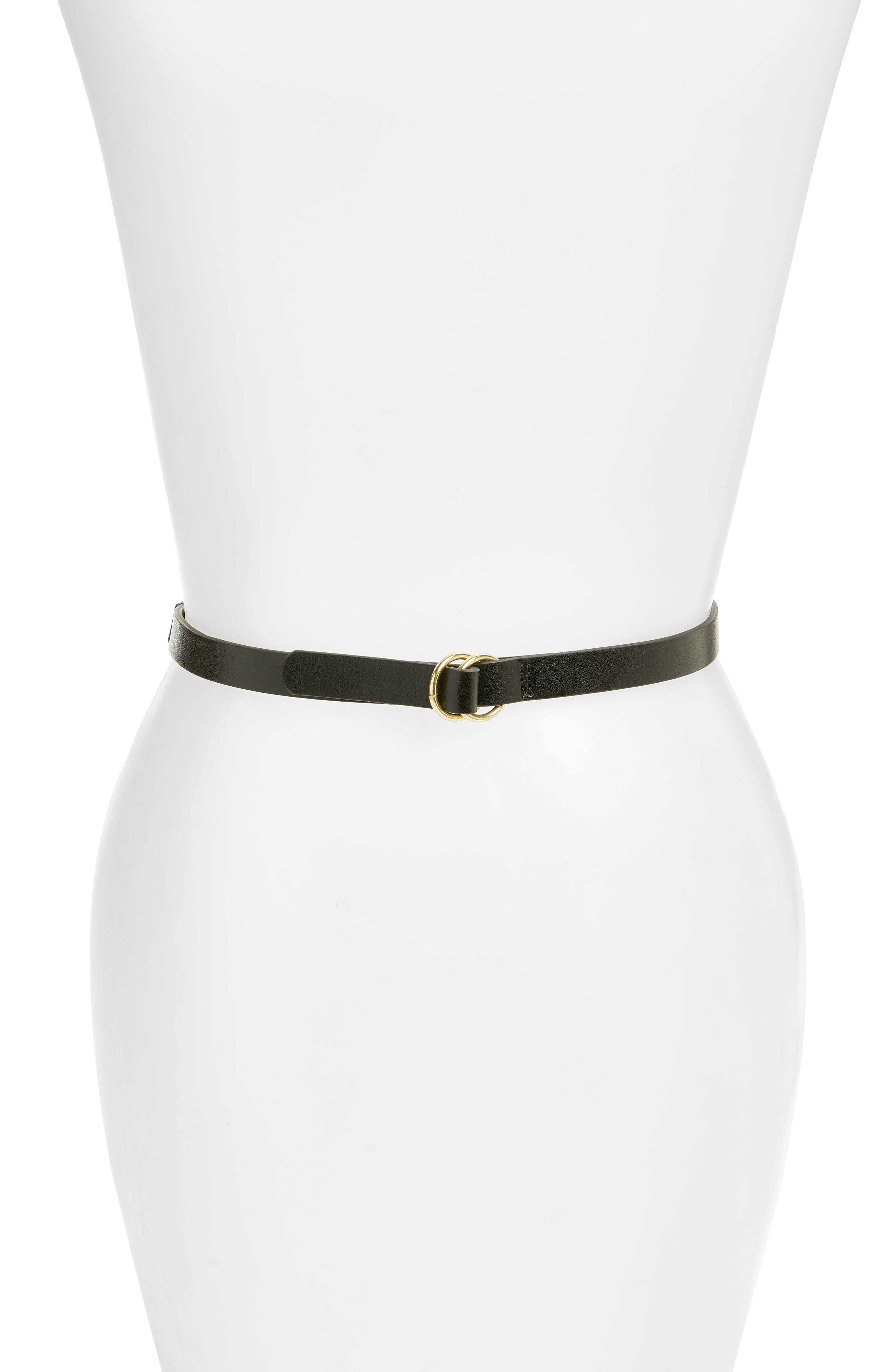 LODIS Faux Leather Belt Bag,                             Alternate thumbnail 2, color,                             Black