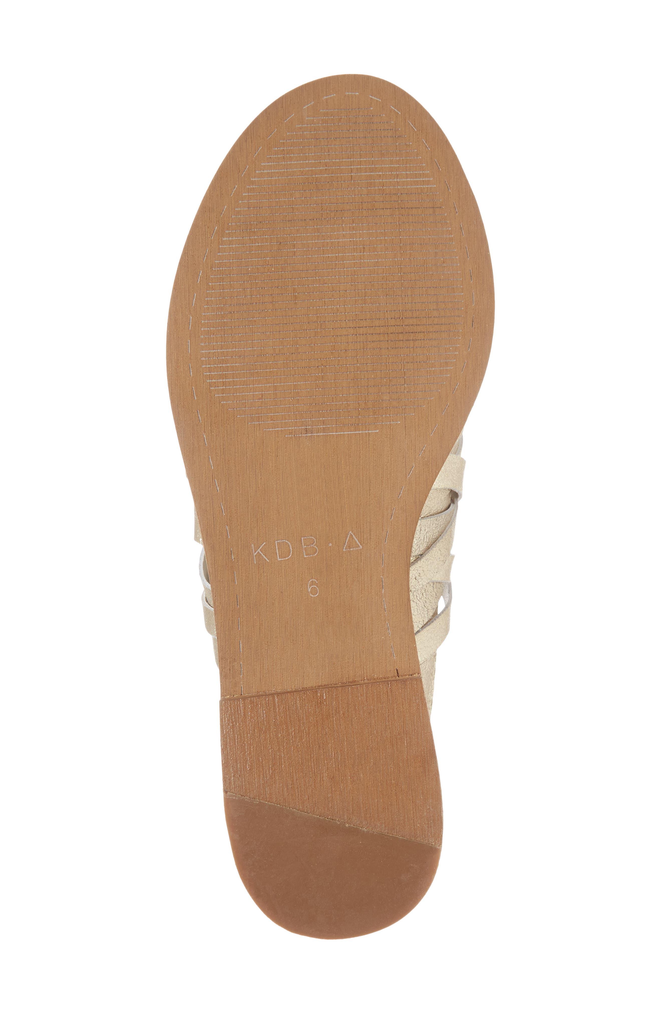 Slope Slide Sandal,                             Alternate thumbnail 6, color,                             Platinum