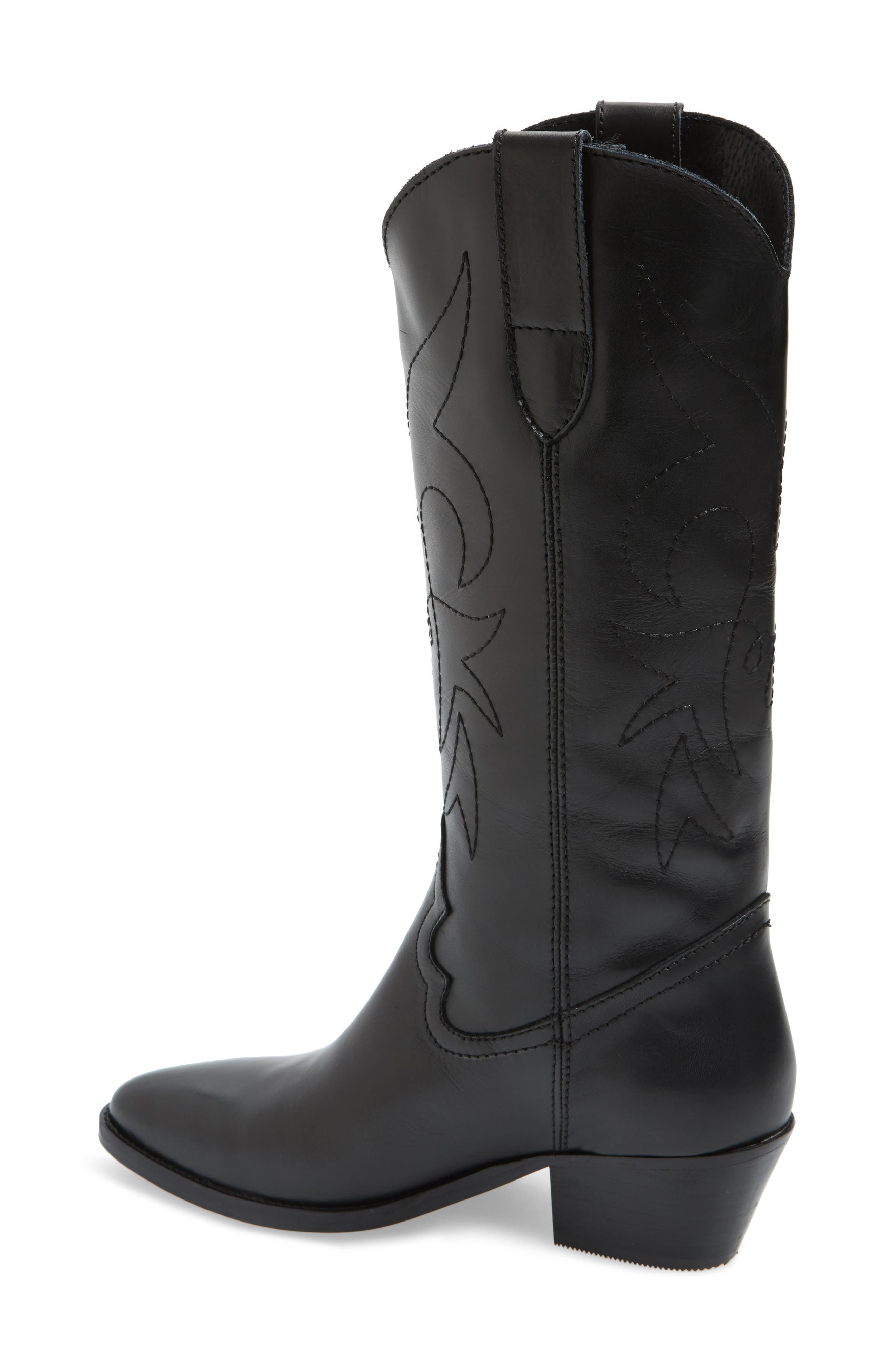 Alternate Image 2  - Topshop Devious Western Boots (Women)