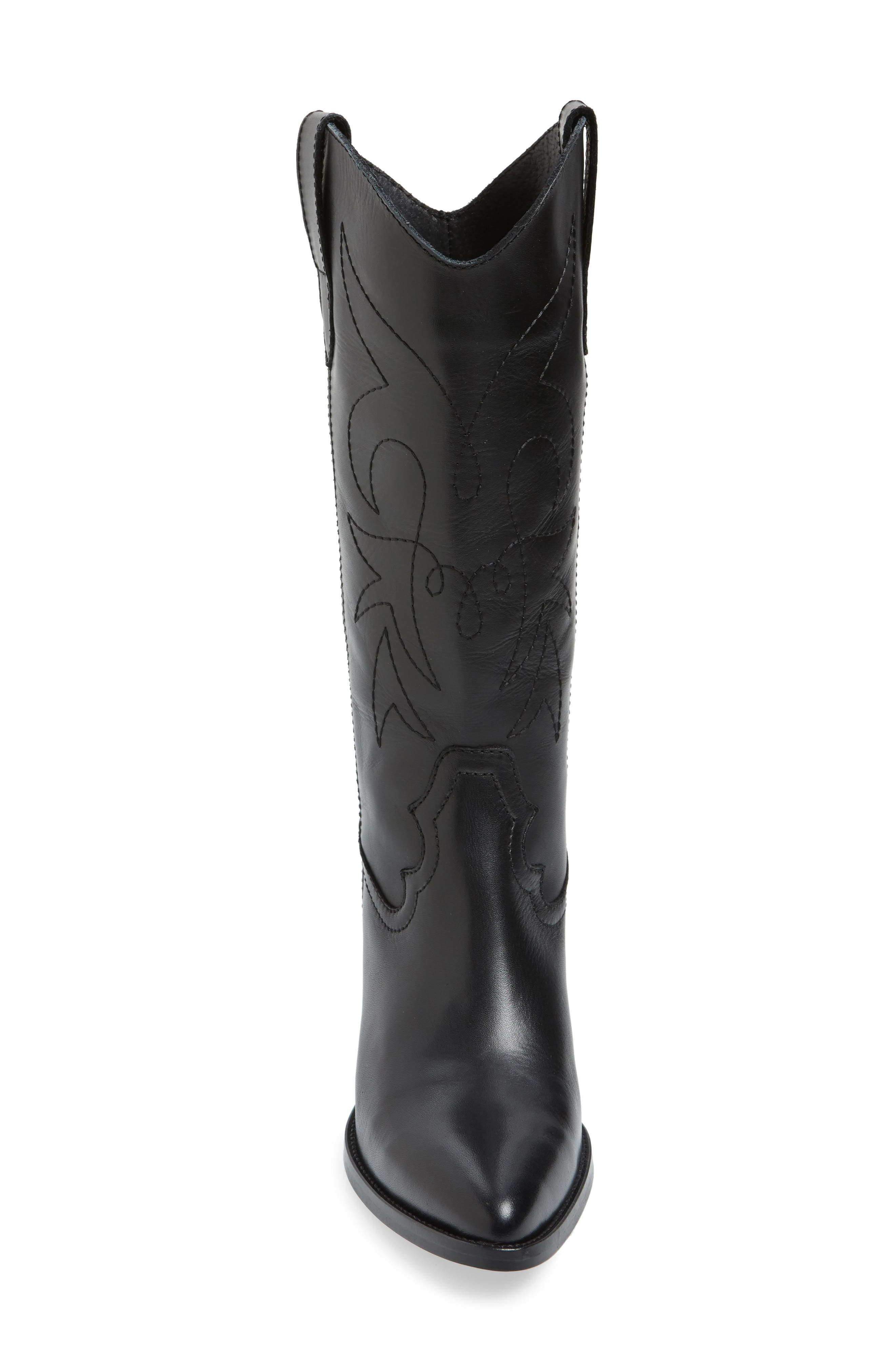 Alternate Image 4  - Topshop Devious Western Boots (Women)