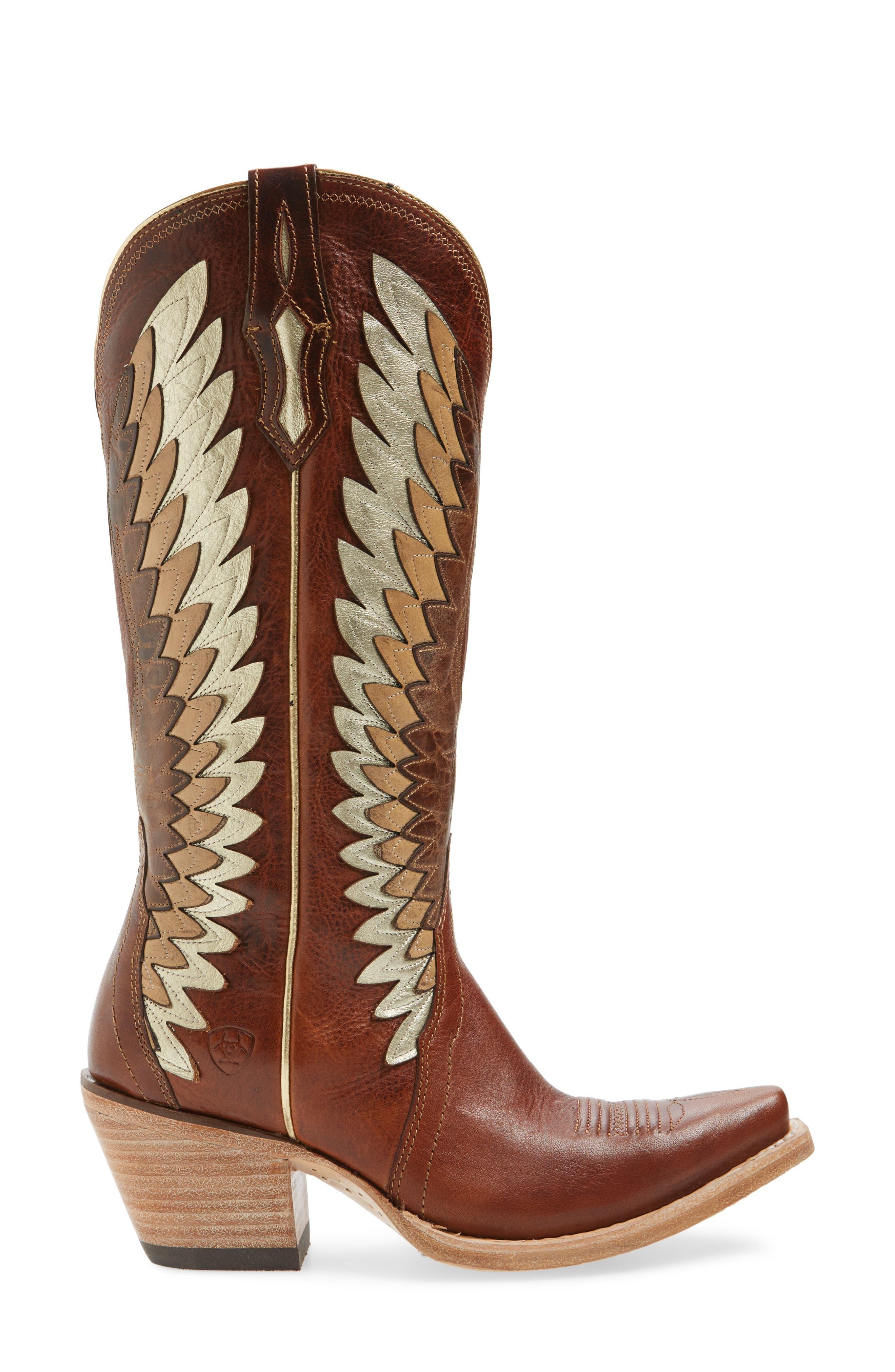 Alternate Image 3  - Ariat Goldcrest Western Boot (Women)
