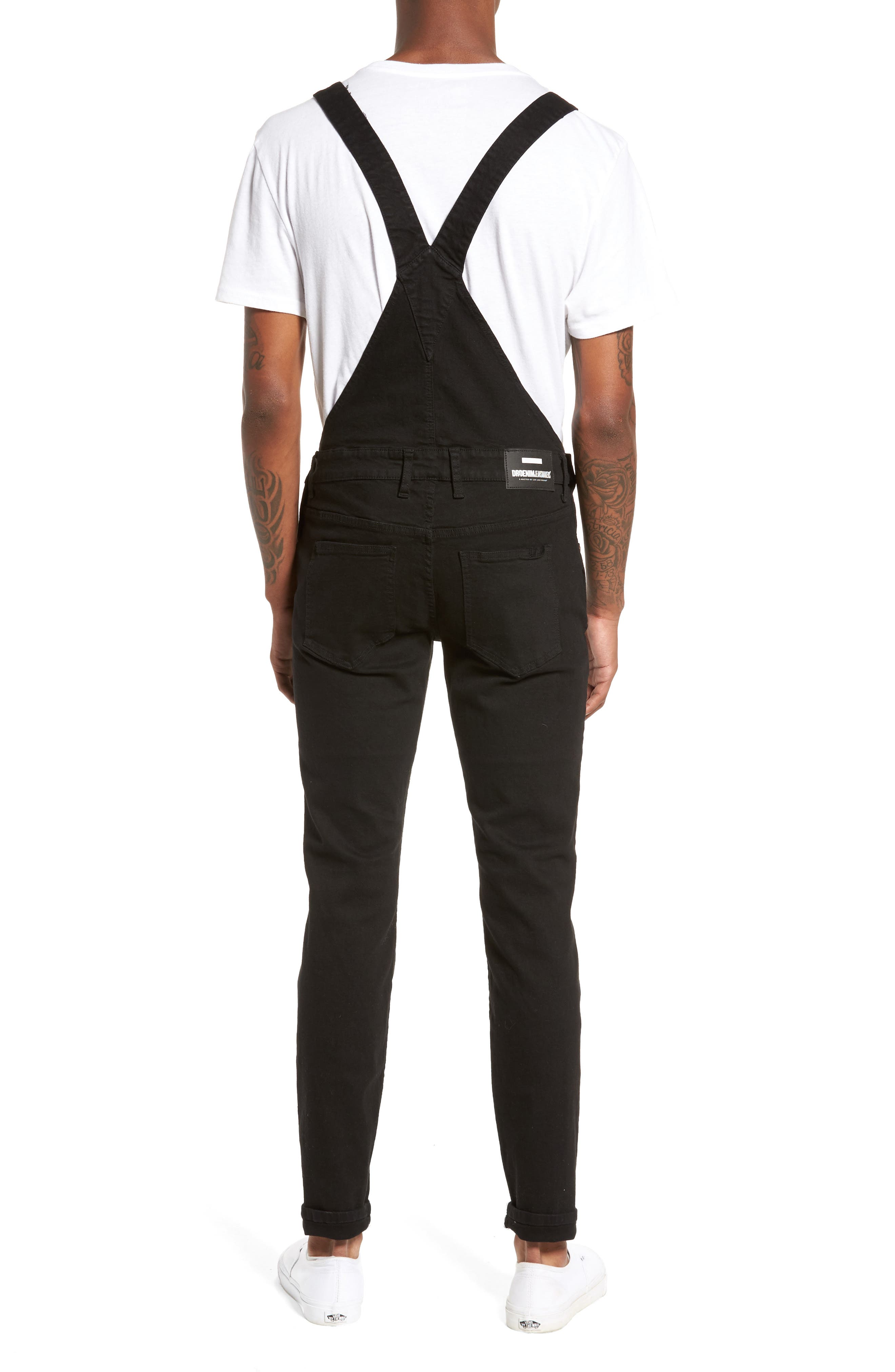 Alternate Image 2  - Dr. Denim Supply Co. Ira Skinny Fit Overalls