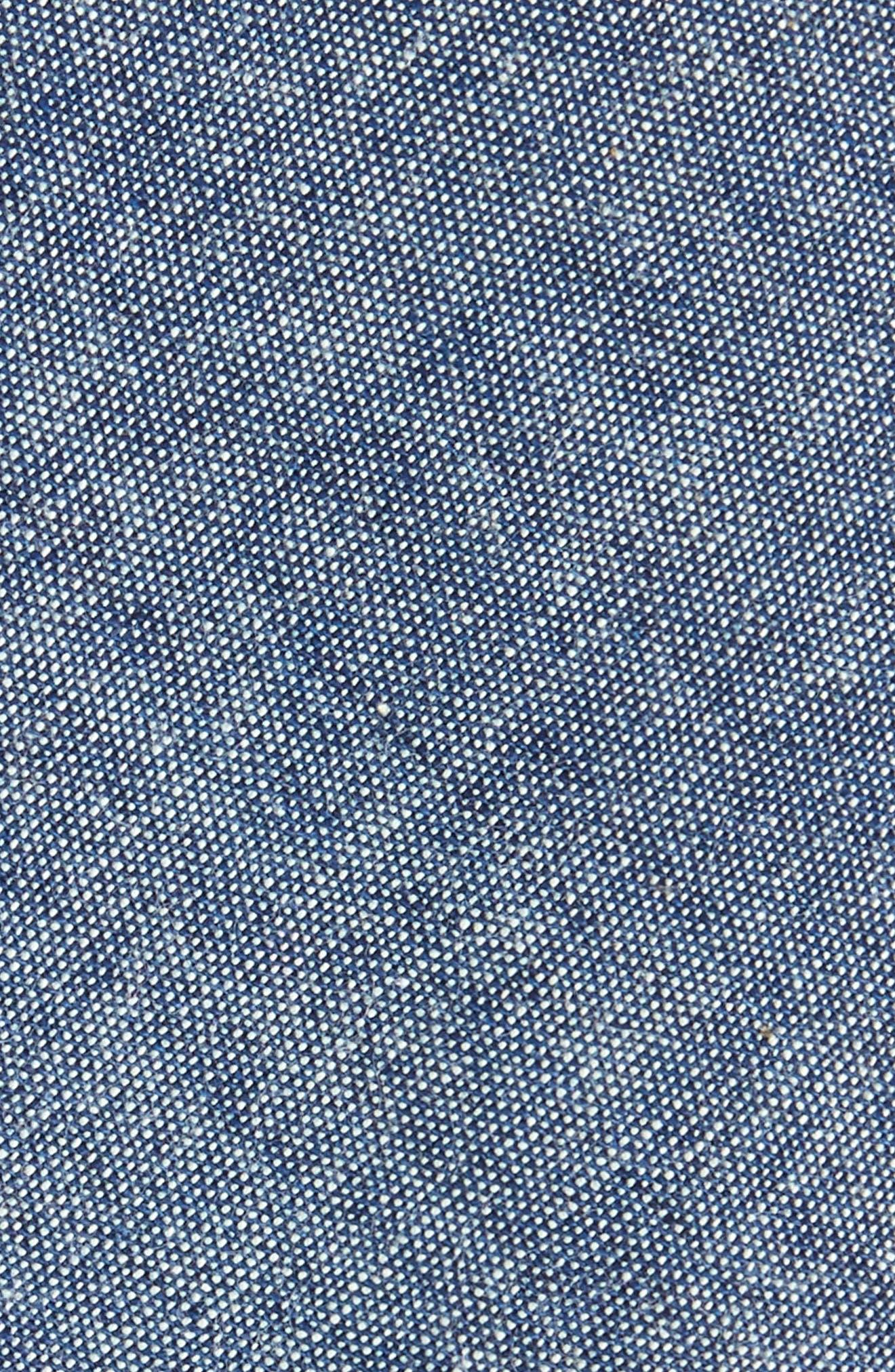 Alternate Image 2  - Eleventy Marled Cotton Skinny Tie