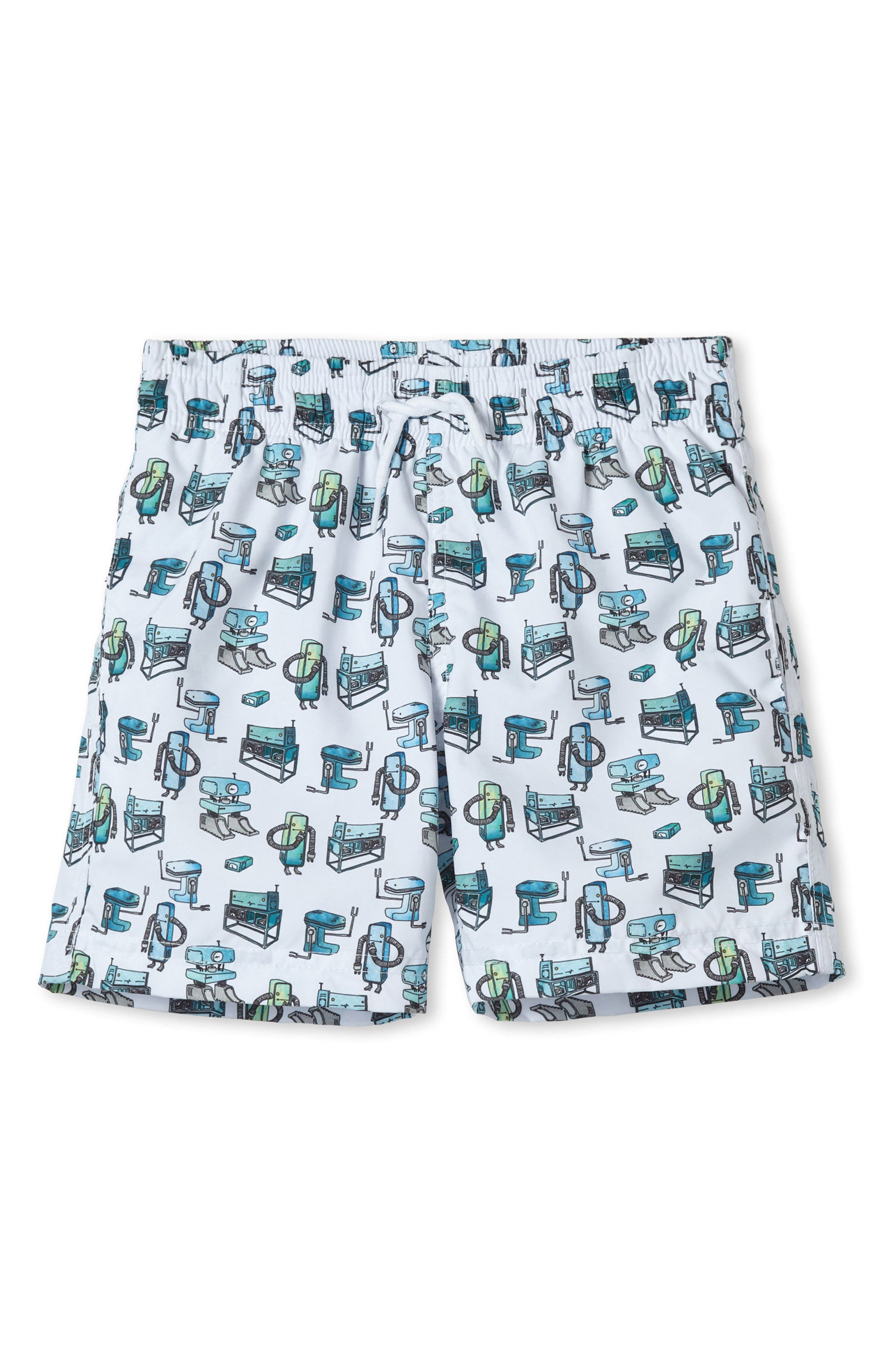 Stella Cove Small Robot Swim Trunks (Toddler Boys & Little Boys)