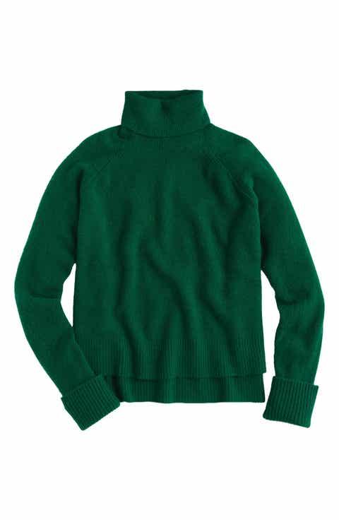 Women's Green Turtleneck Sweaters | Nordstrom