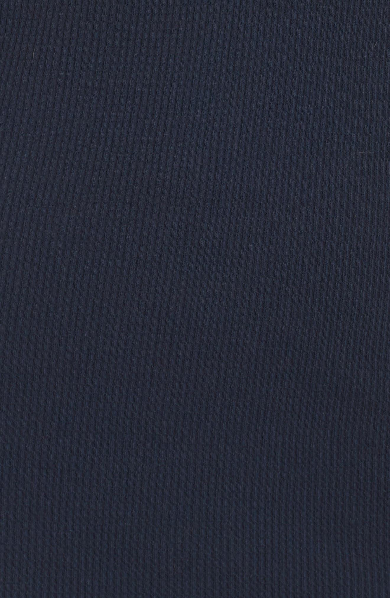 Wynn Henley Sleep Shirt,                             Alternate thumbnail 6, color,                             Bright Navy