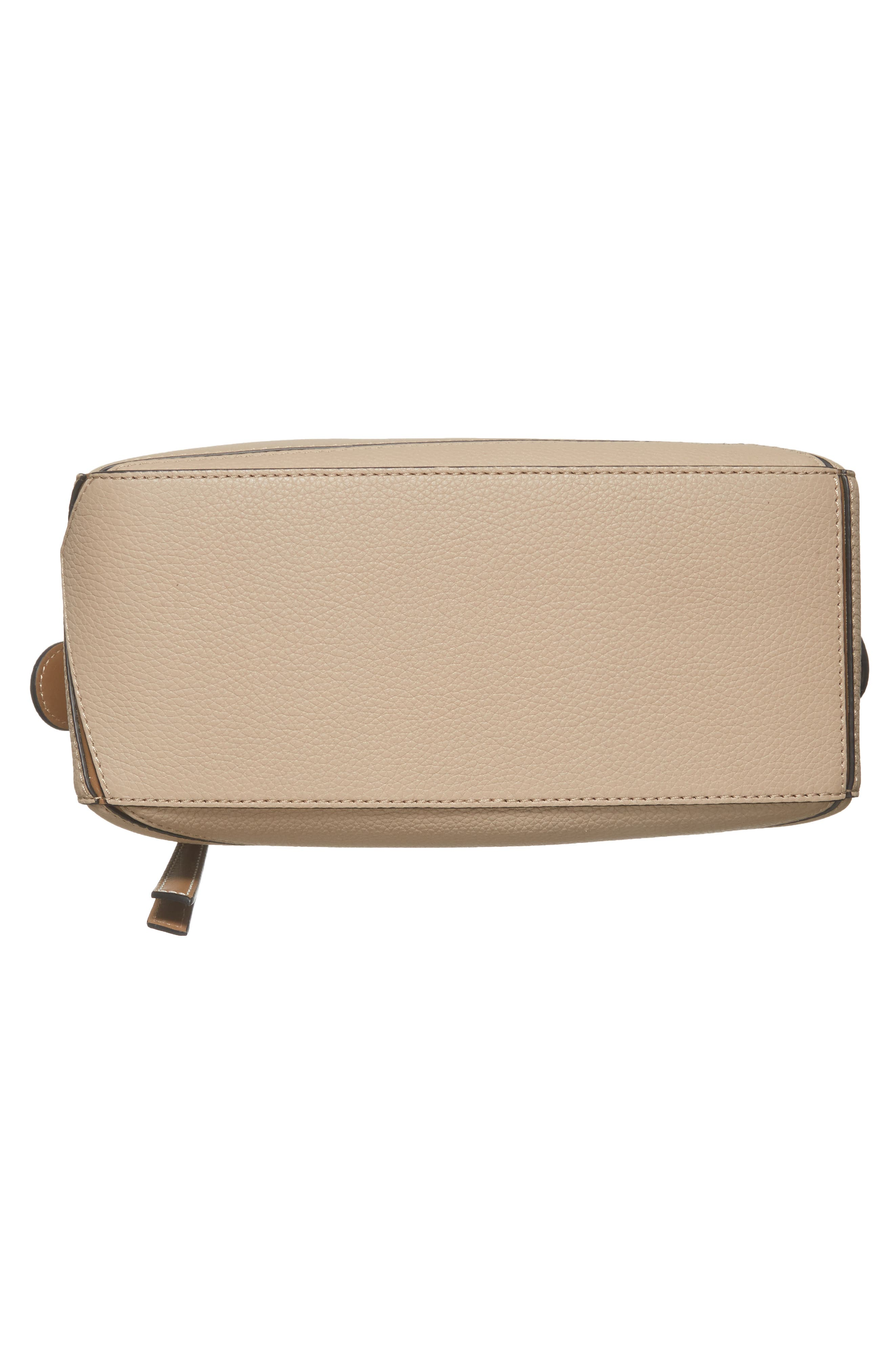 Small Puzzle Leather Bag,                             Alternate thumbnail 6, color,                             Sand/ Mink