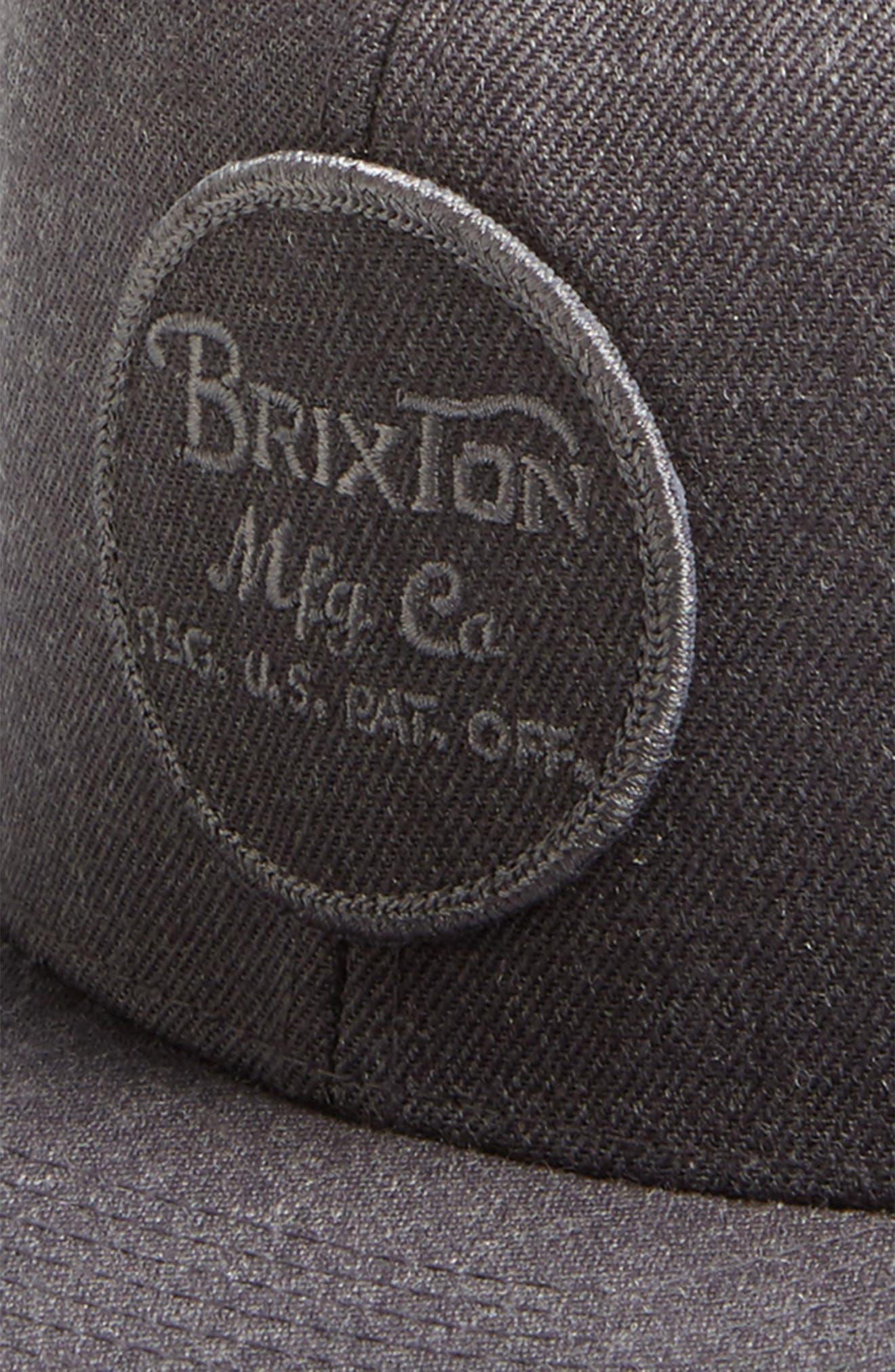 Alternate Image 3  - Brixton 'Wheeler' Snapback Cap