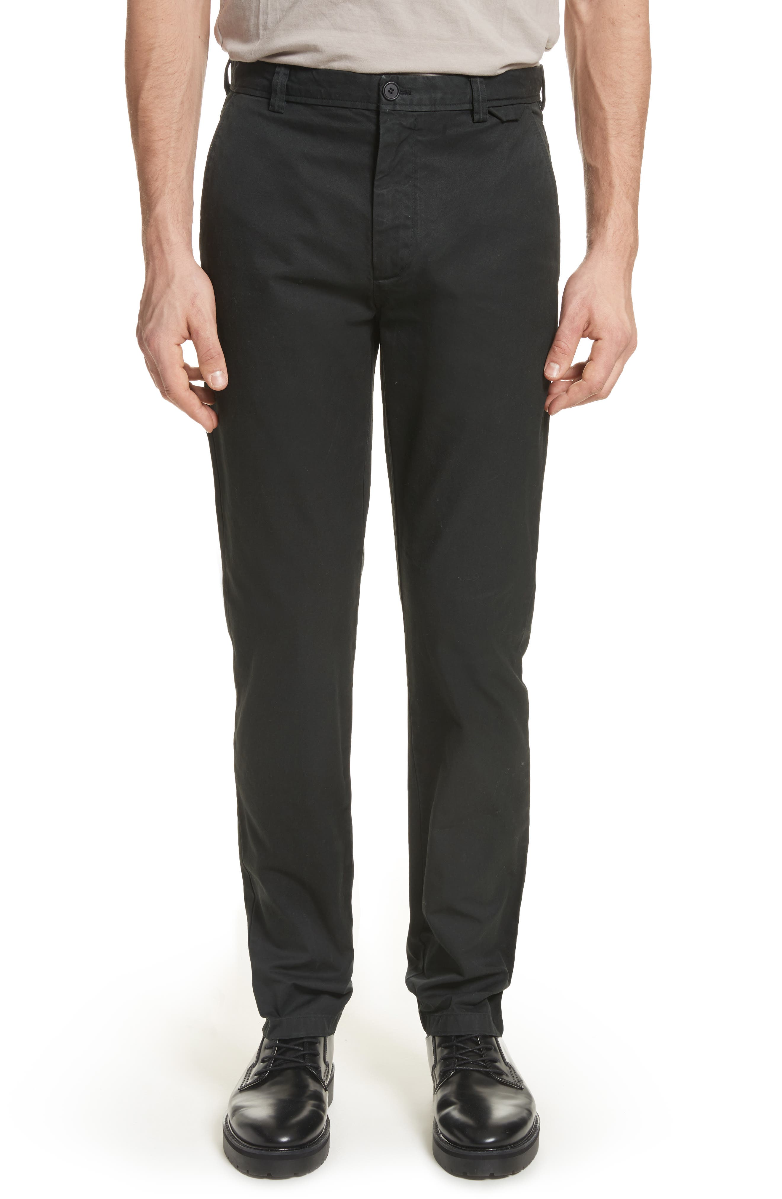 Isher Chinos,                         Main,                         color, Coal Black