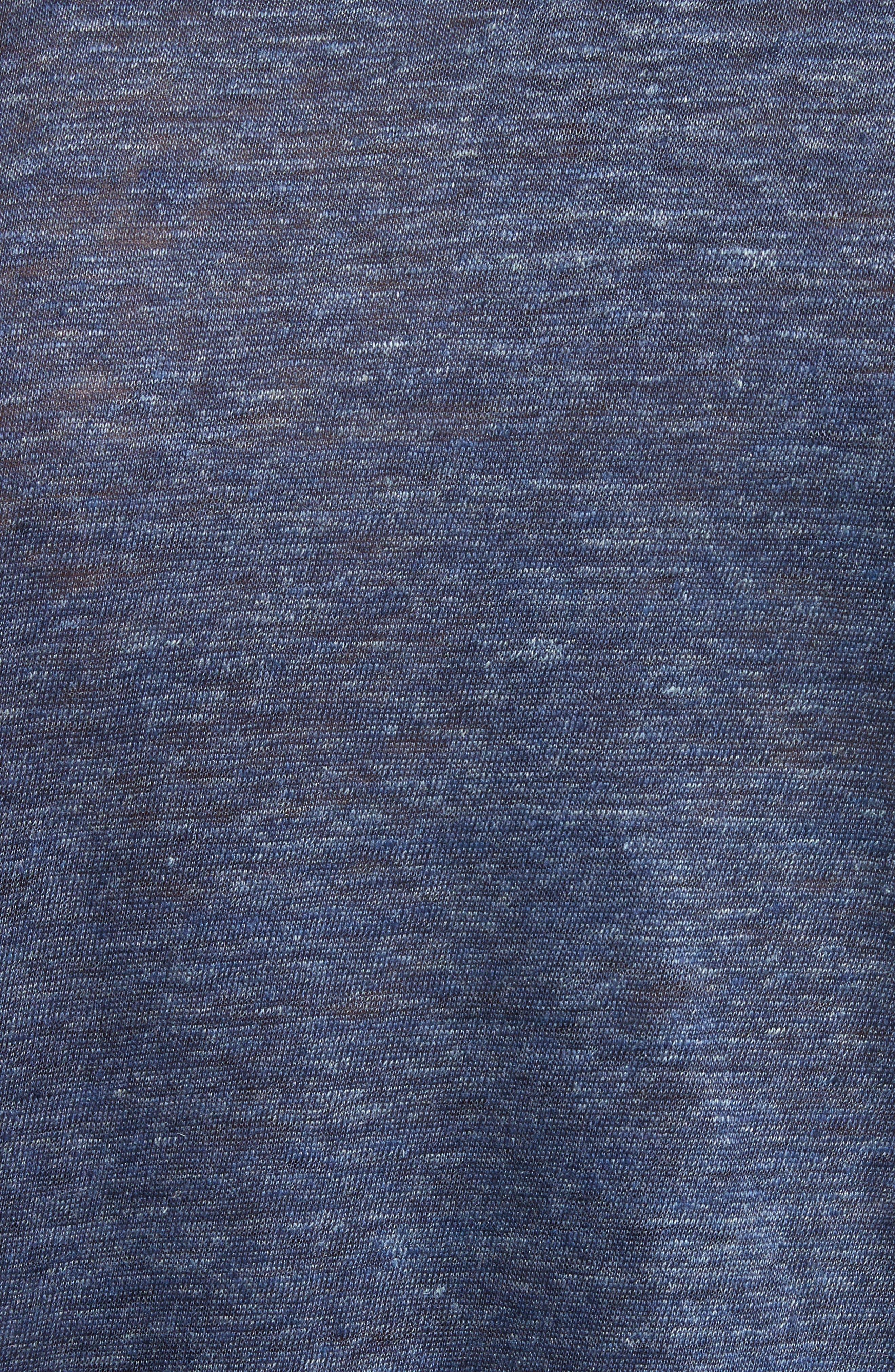 Alternate Image 5  - John Varvatos Collection Linen T-Shirt