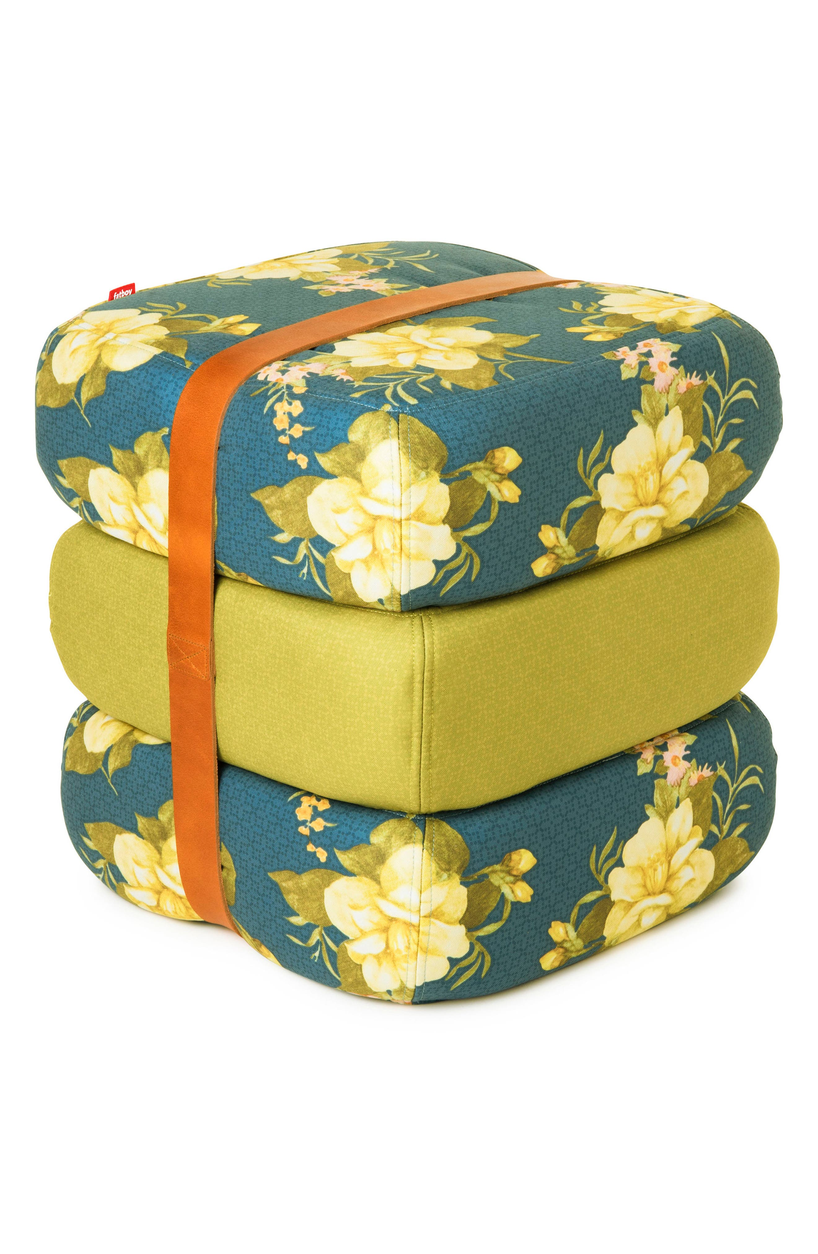 Baboesjka Set of 3 Pillows,                         Main,                         color, Wild Roses Blue