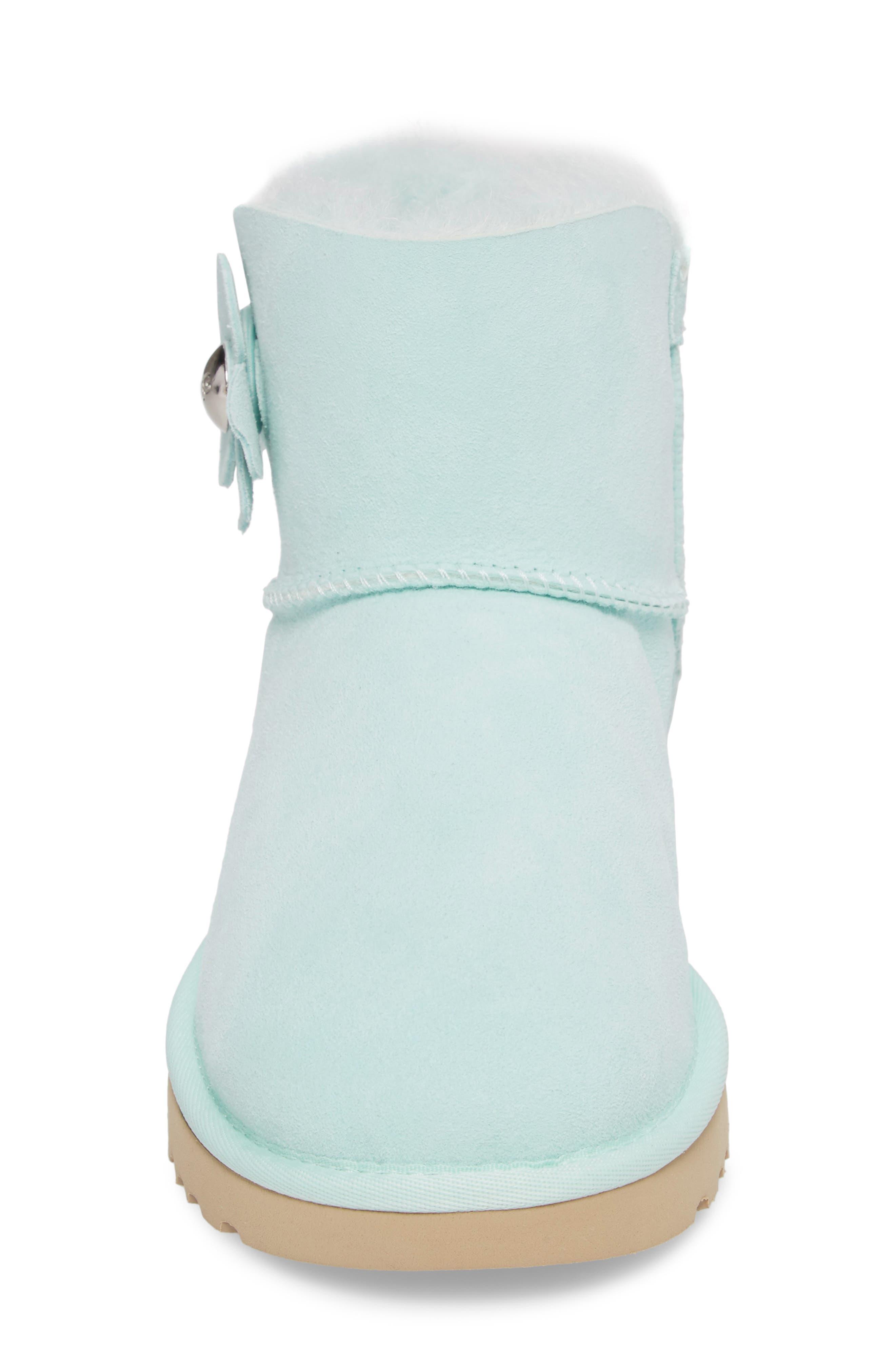 Alternate Image 4  - UGG® Mini Bailey Button Poppy Boot (Women)