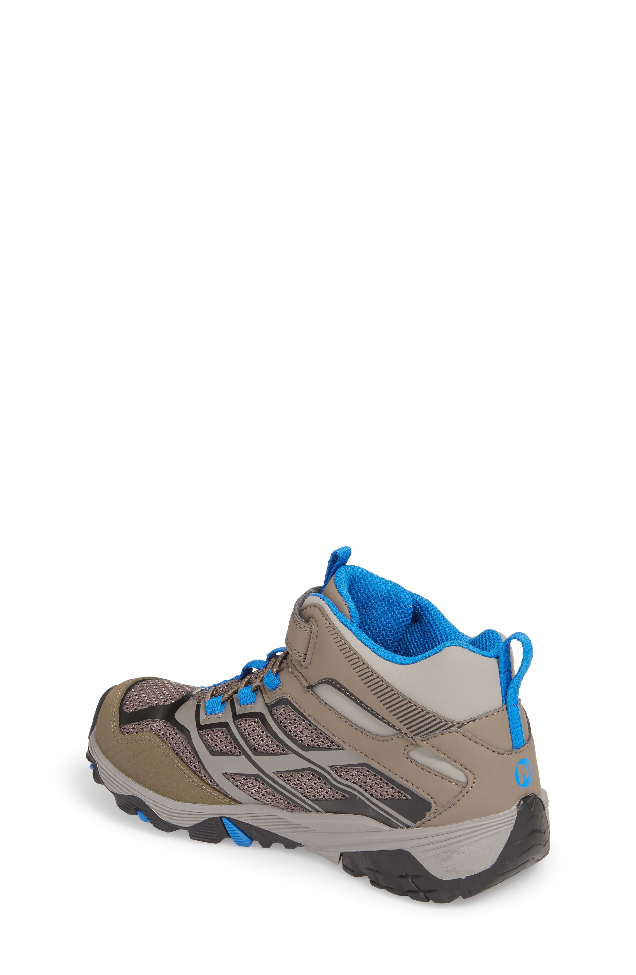 Alternate Image 2  - Merrell Moab FST Mid Top Waterproof Sneaker Boot (Toddler, Little Kid & Big Kid)