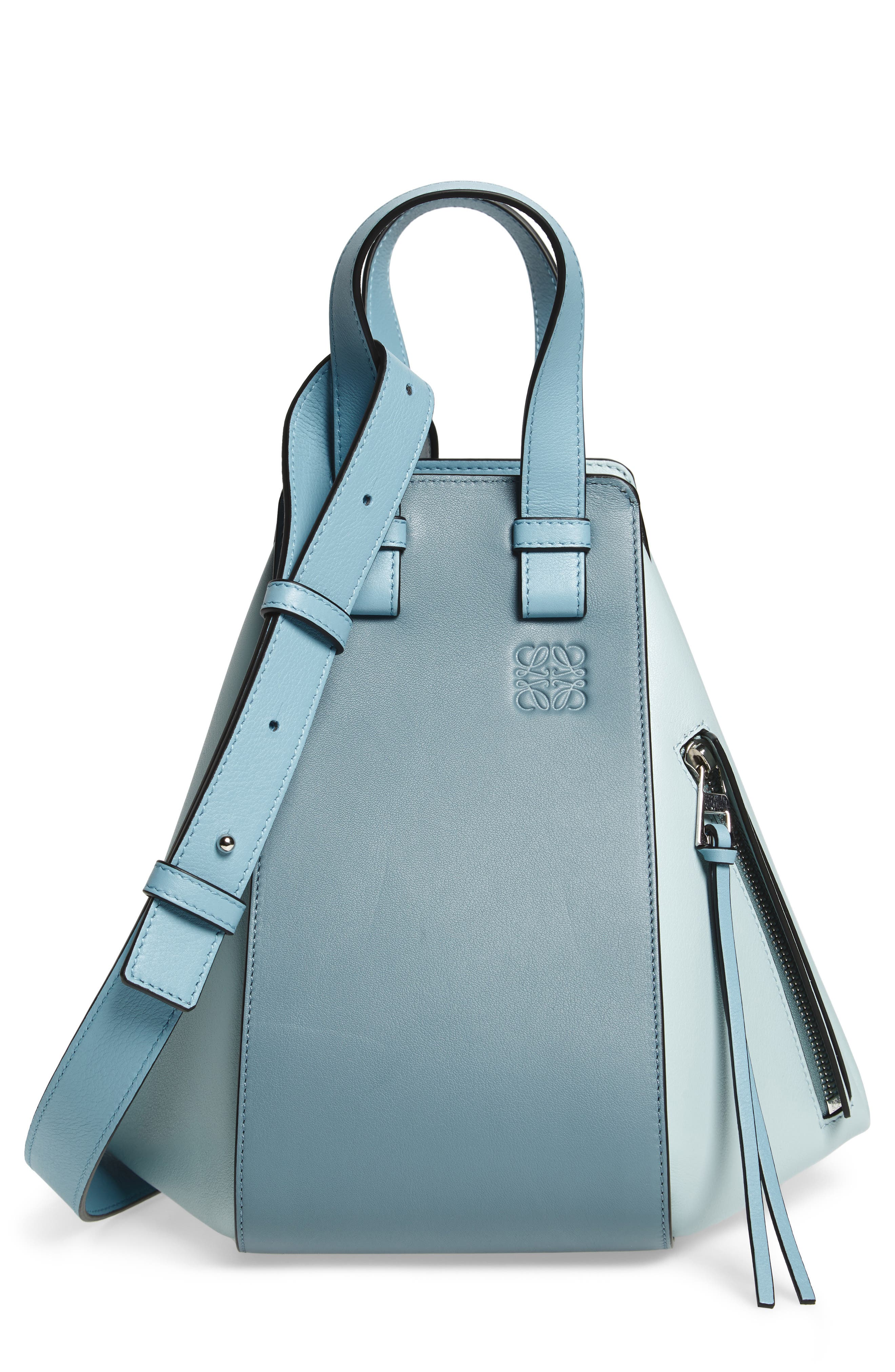 Loewe Medium Hammock Bicolor Leather Hobo
