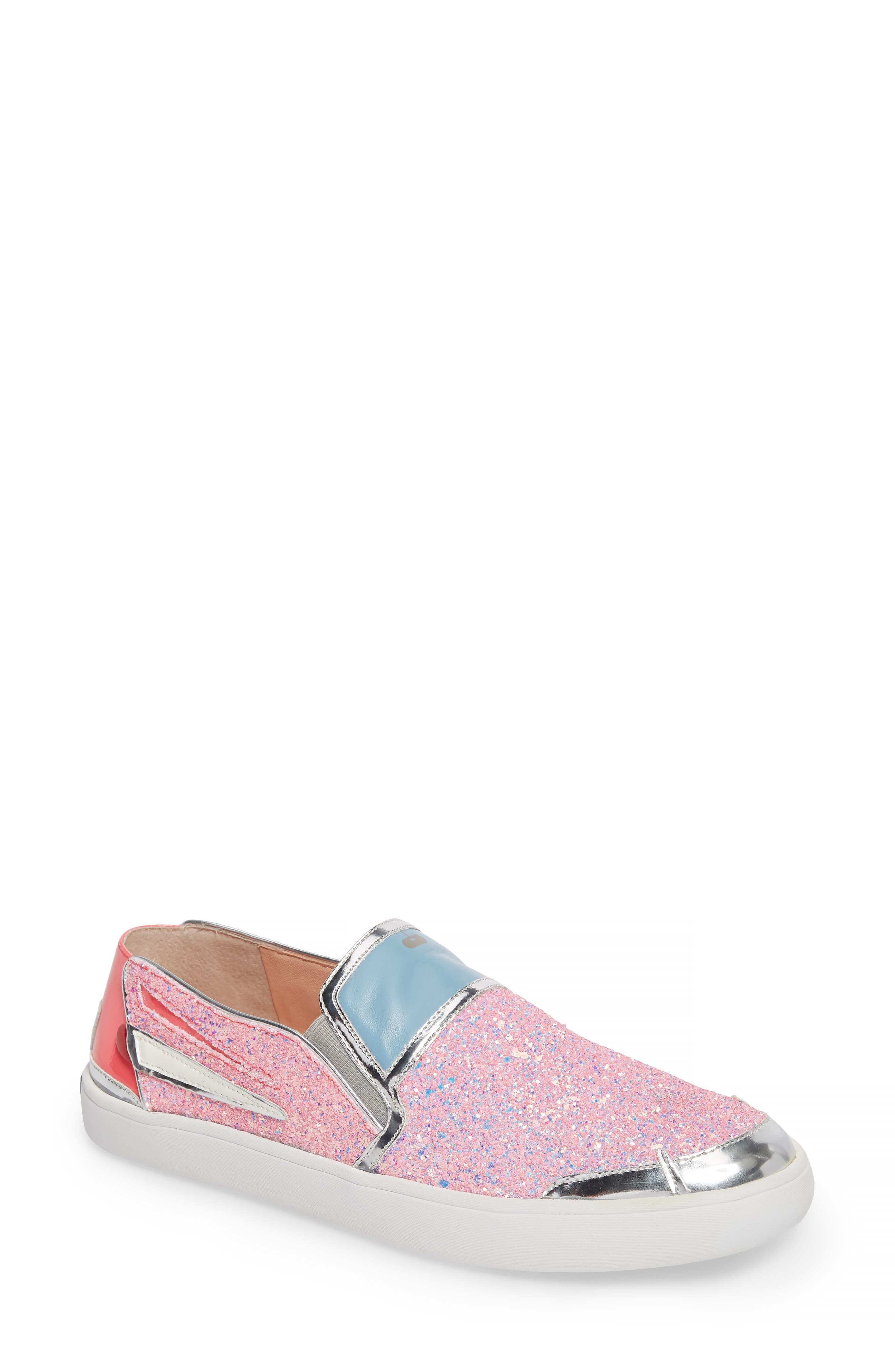 Lotus Slip-On Sneaker,                         Main,                         color, Pink