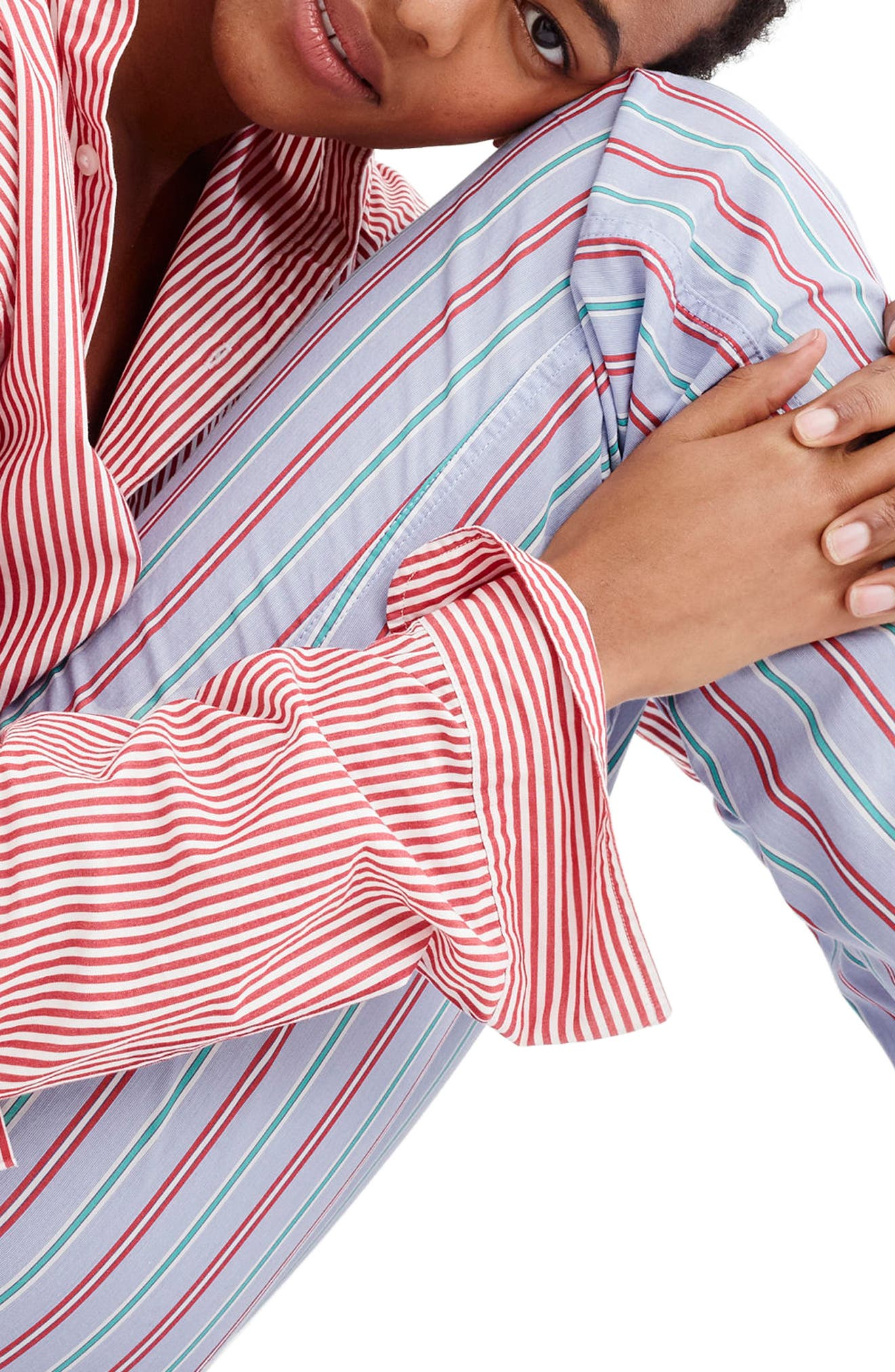 Candy Cane Pajama Pants,                             Alternate thumbnail 2, color,                             Holiday Stripe