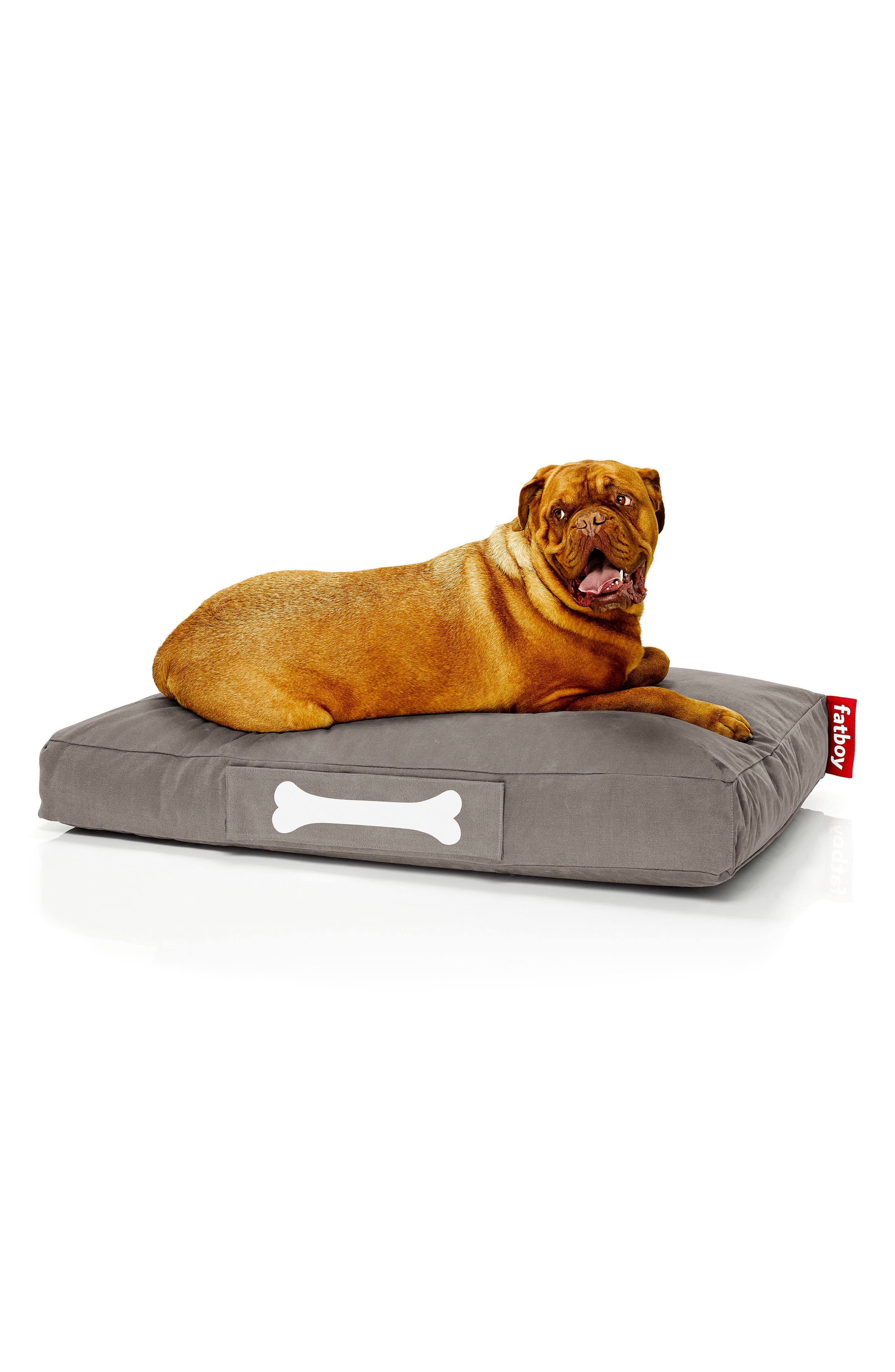 Doggielounge - Stonewashed Pet Bed,                             Alternate thumbnail 3, color,                             Taupe