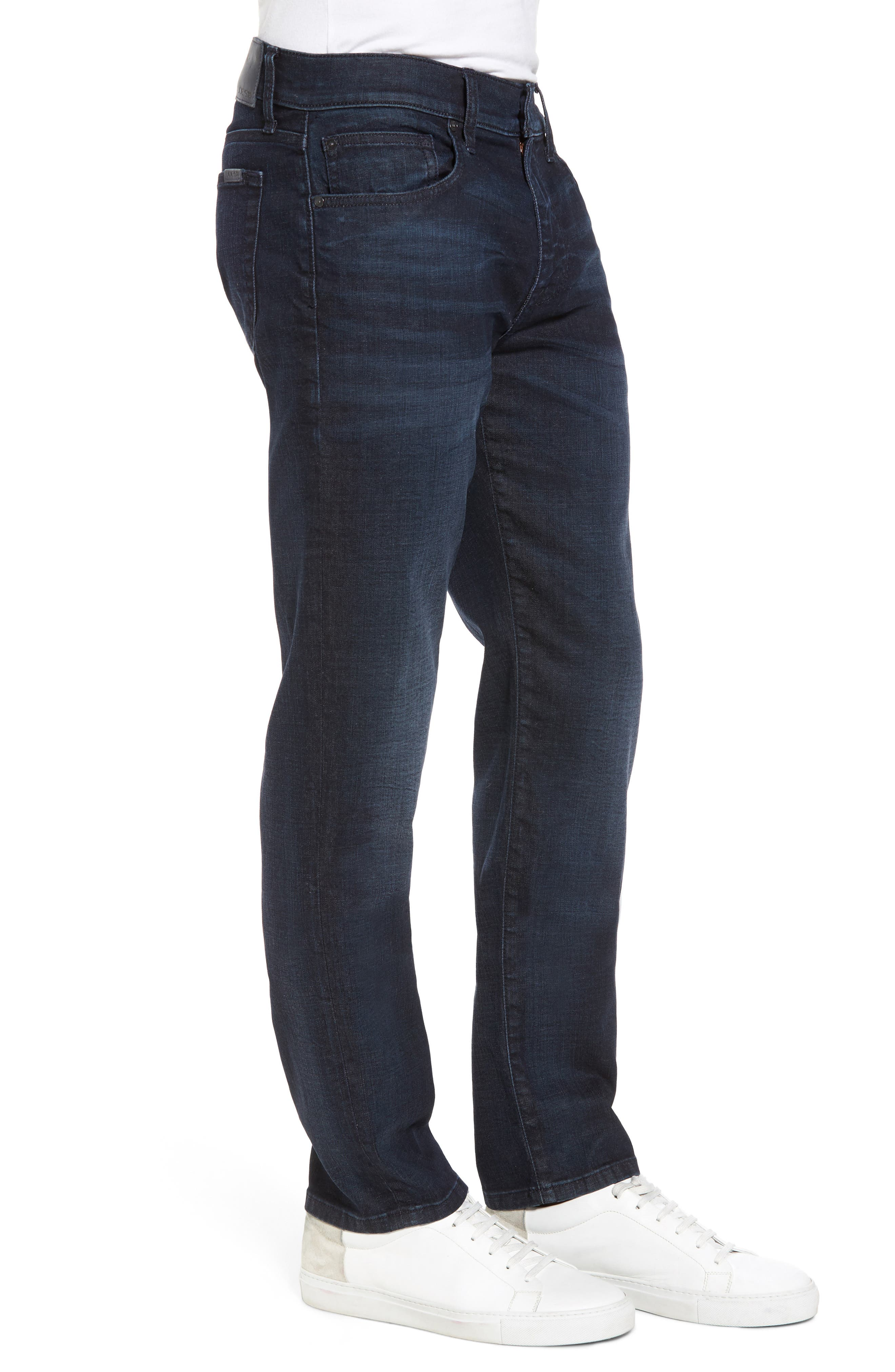 Brixton Slim Straight Leg Jeans,                             Alternate thumbnail 3, color,                             Larsen