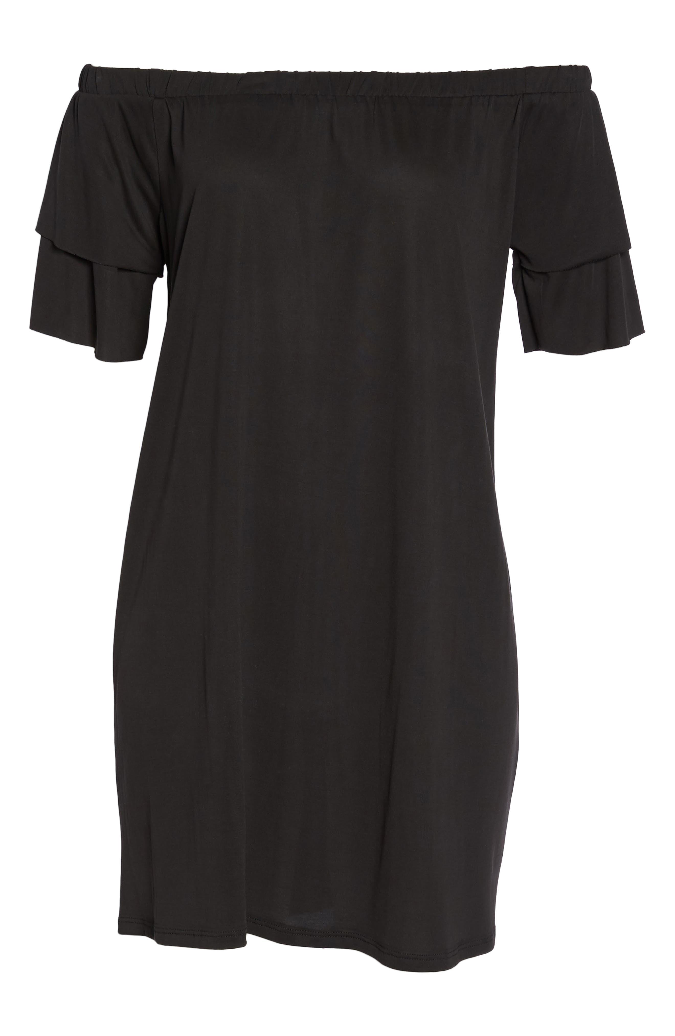 Alternate Image 6  - NSR Off the Shoulder Dress