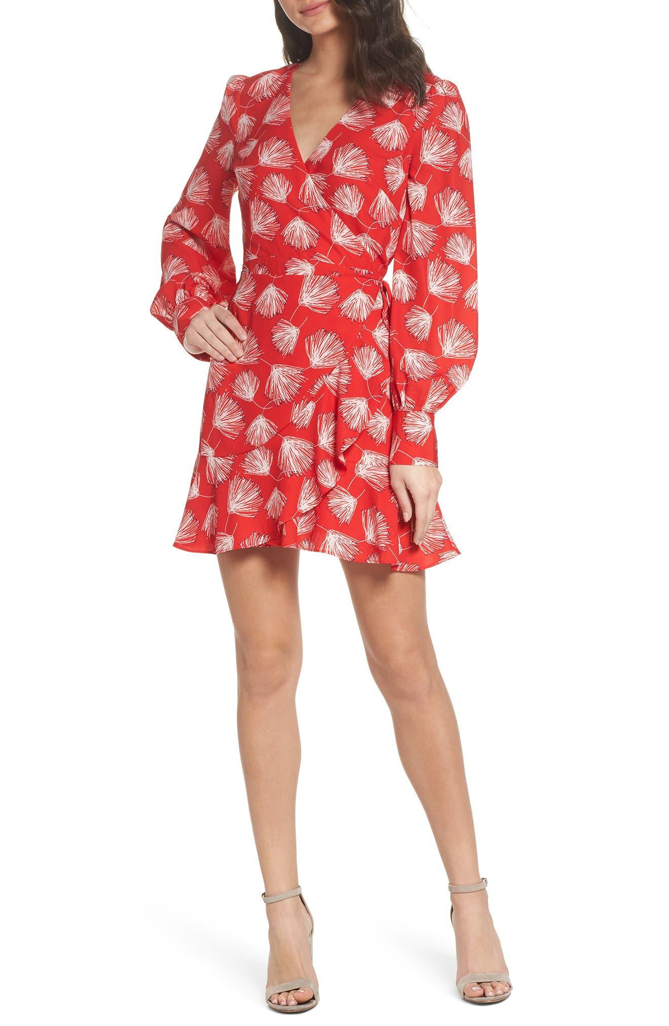 Main Image - Adelyn Rae Sienna Ruffle Dress