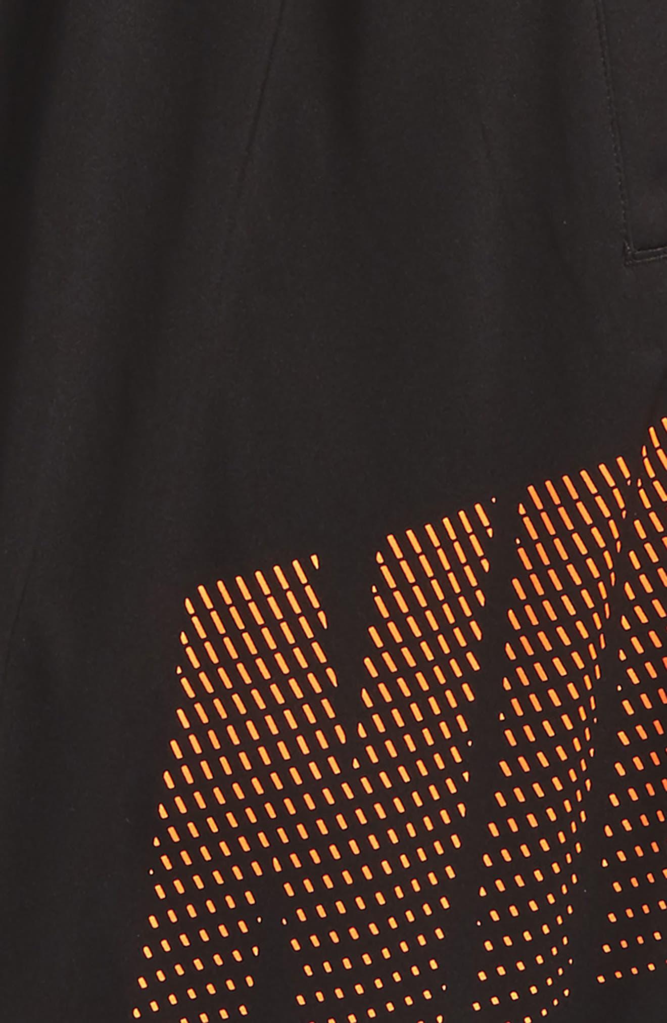Alternate Image 2  - Nike Dry Logo Graphic Training Shorts (Little Boys & Big Boys)