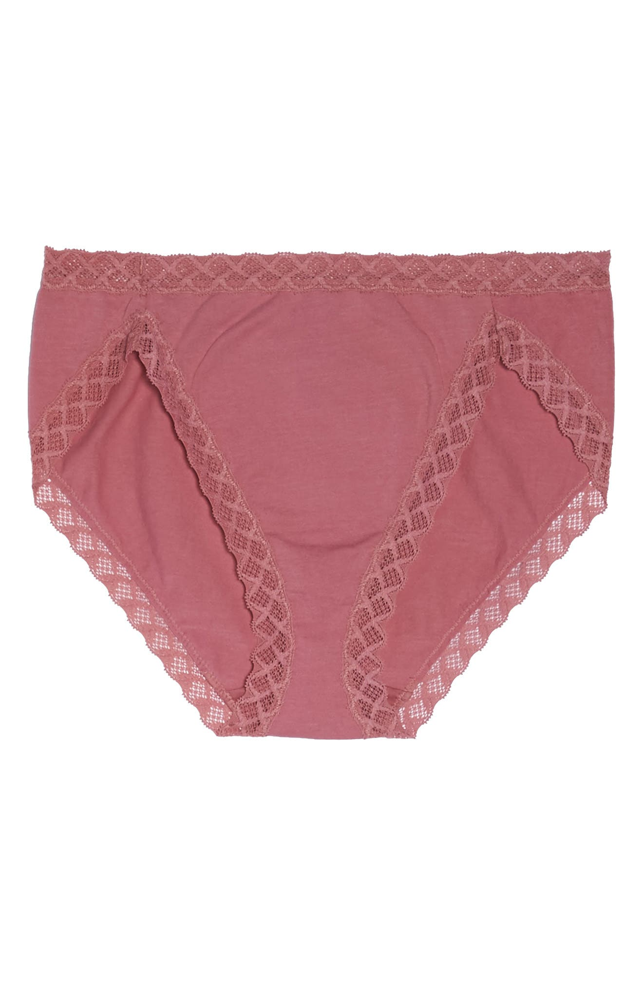 Alternate Image 4  - Natori Bliss French Cut Briefs (3 for $45)