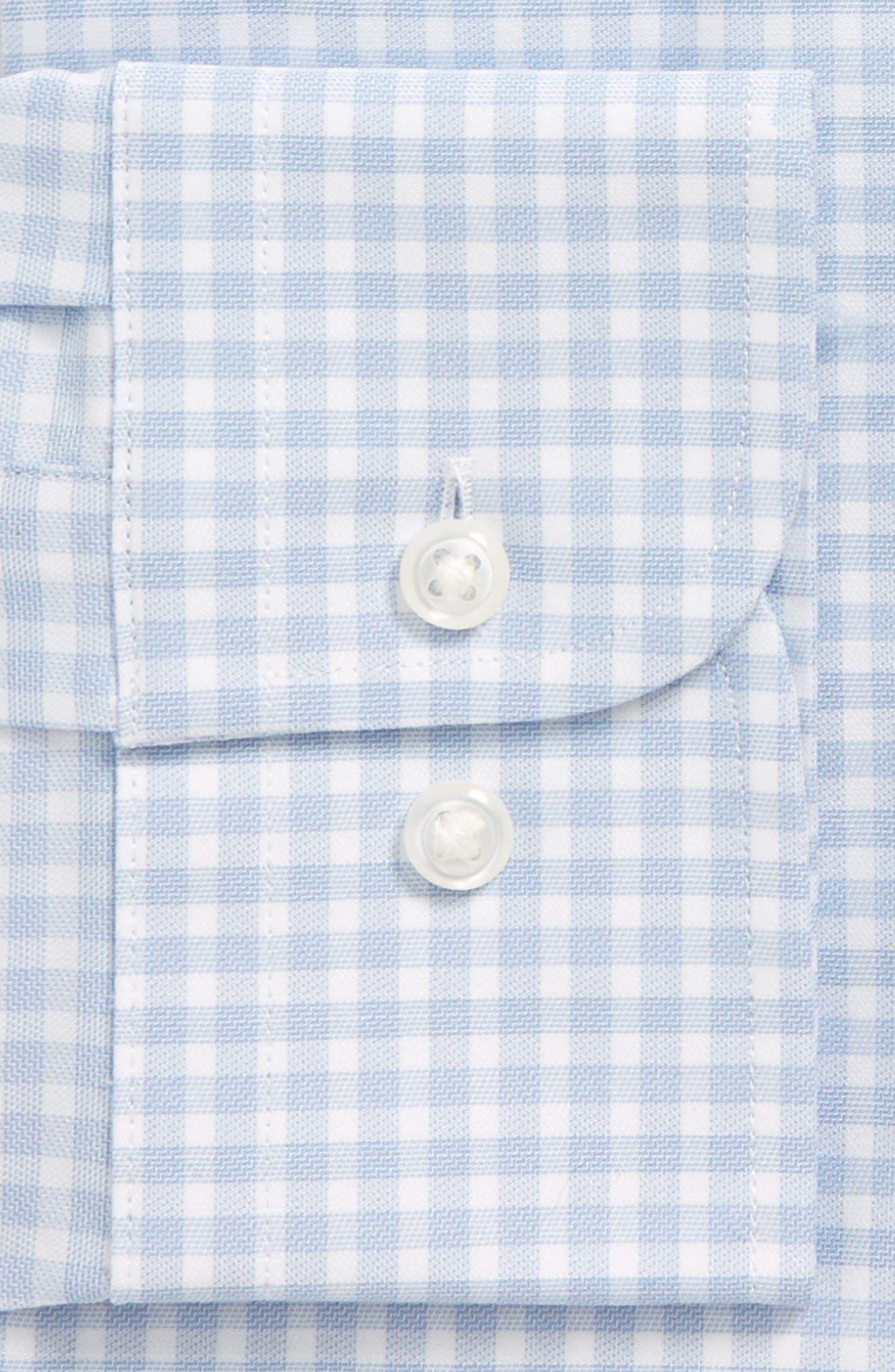Alternate Image 3  - Nordstrom Men's Shop Tech-Smart Traditional Fit Stretch Check Dress Shirt