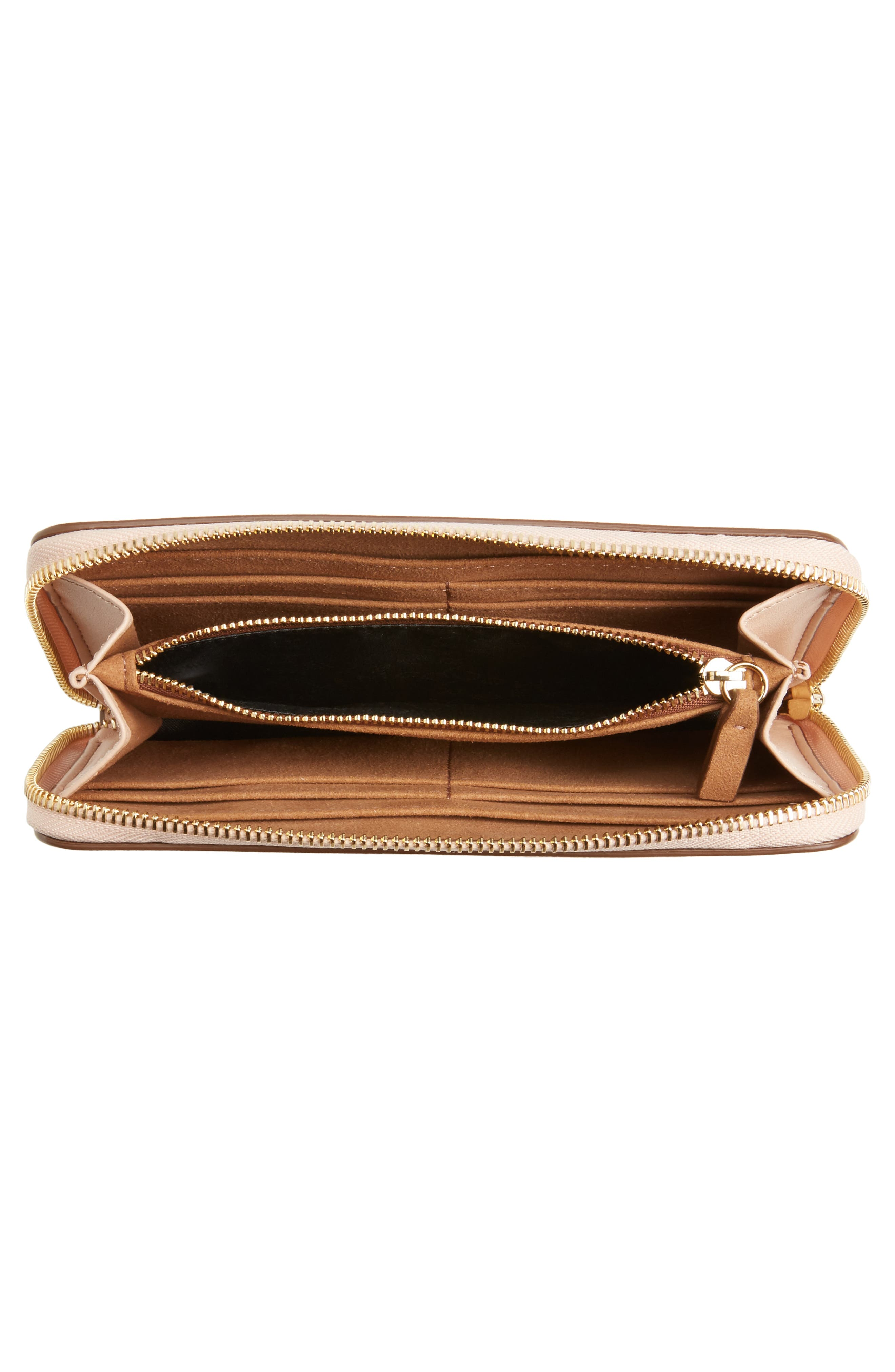 Alternate Image 2  - Stella McCartney Alter Nappa Perforated Logo Faux Leather Wallet