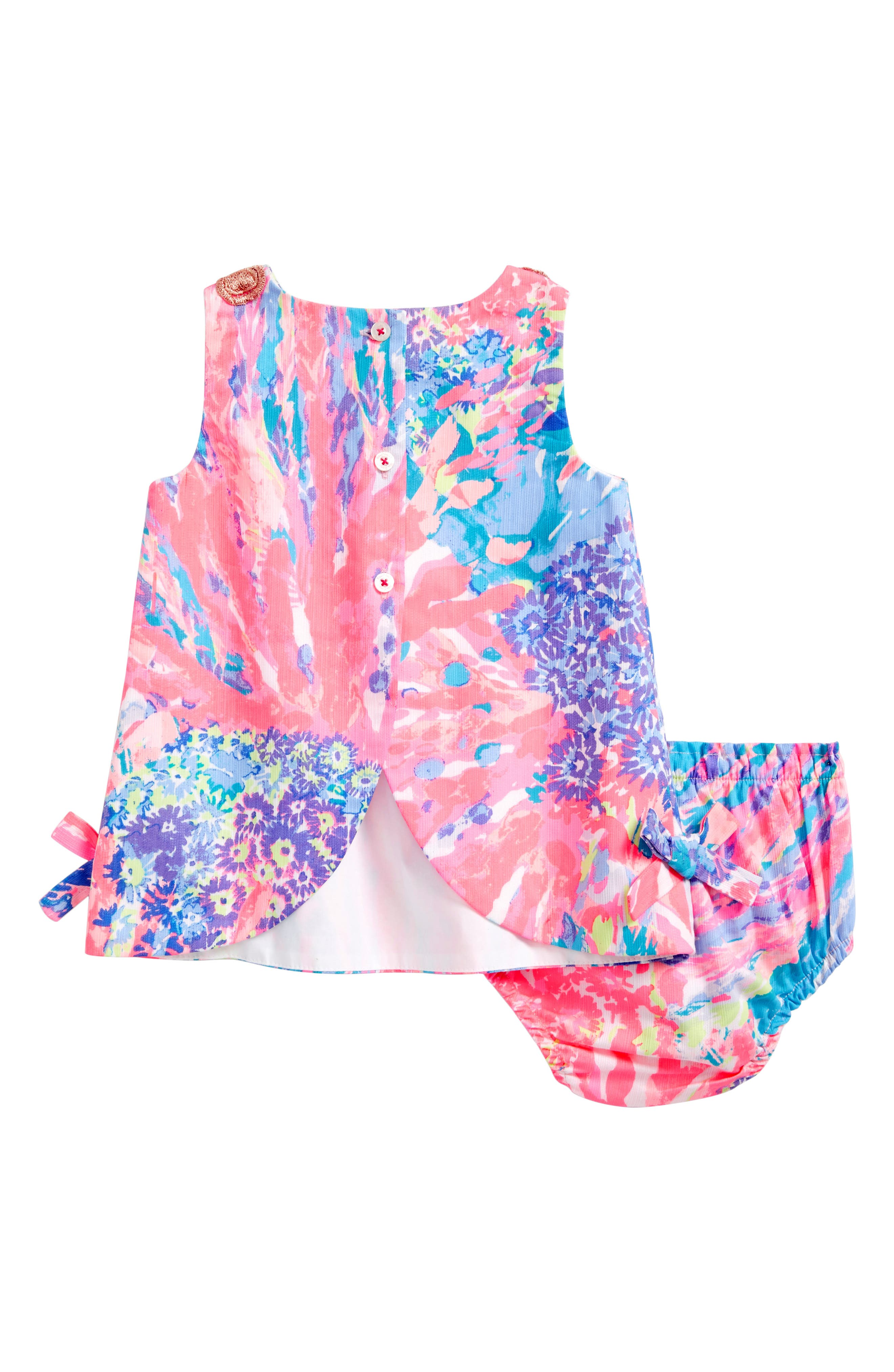 Baby Lilly Shift Dress,                             Alternate thumbnail 2, color,                             Multi Rainbow Soleil