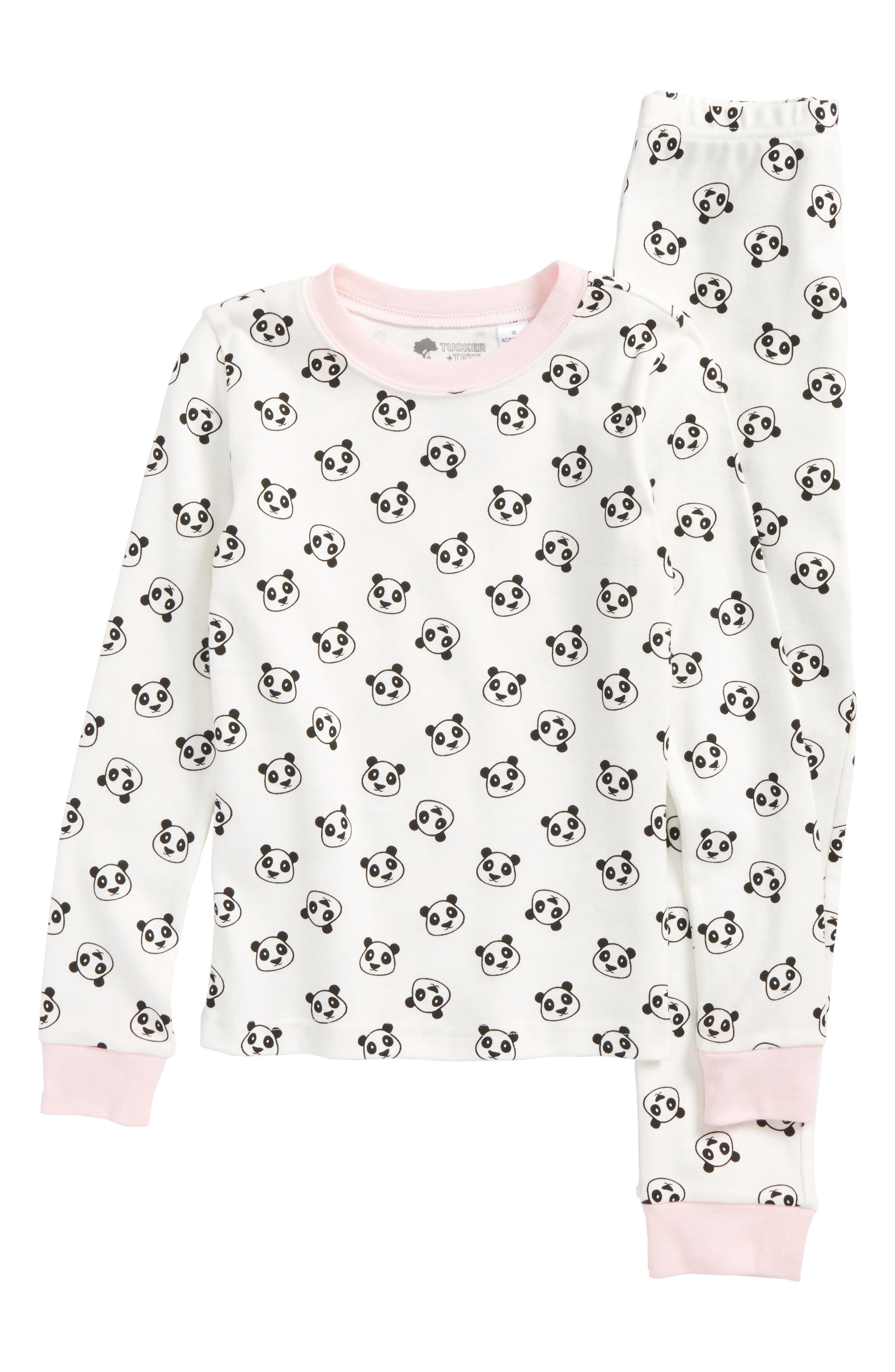 Tucker + Tate Fitted Two-Piece Pajamas (Toddler Girls, Little Girls & Big Girls)