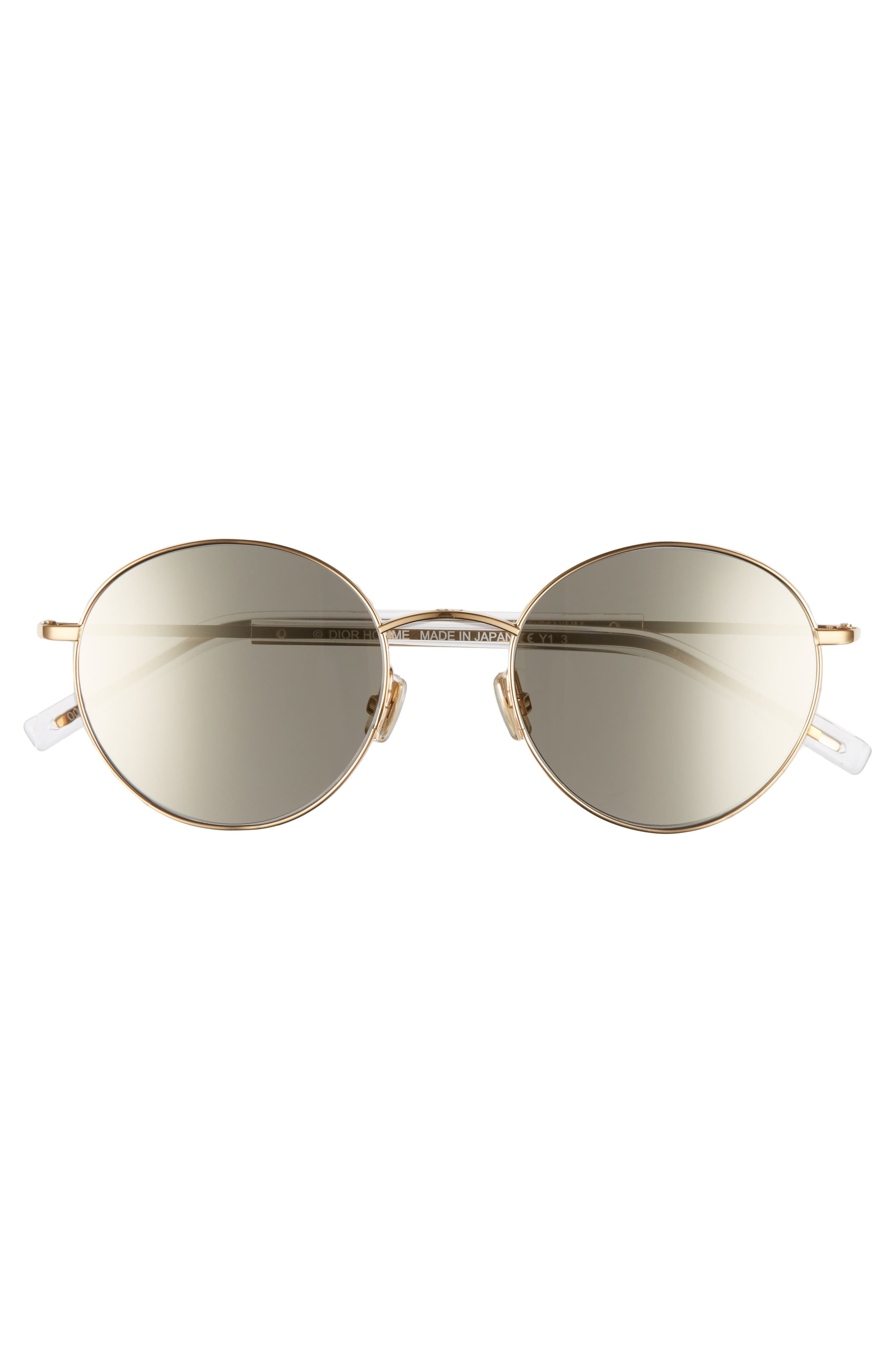 Alternate Image 2  - Dior Homme Edgy 52mm Sunglasses