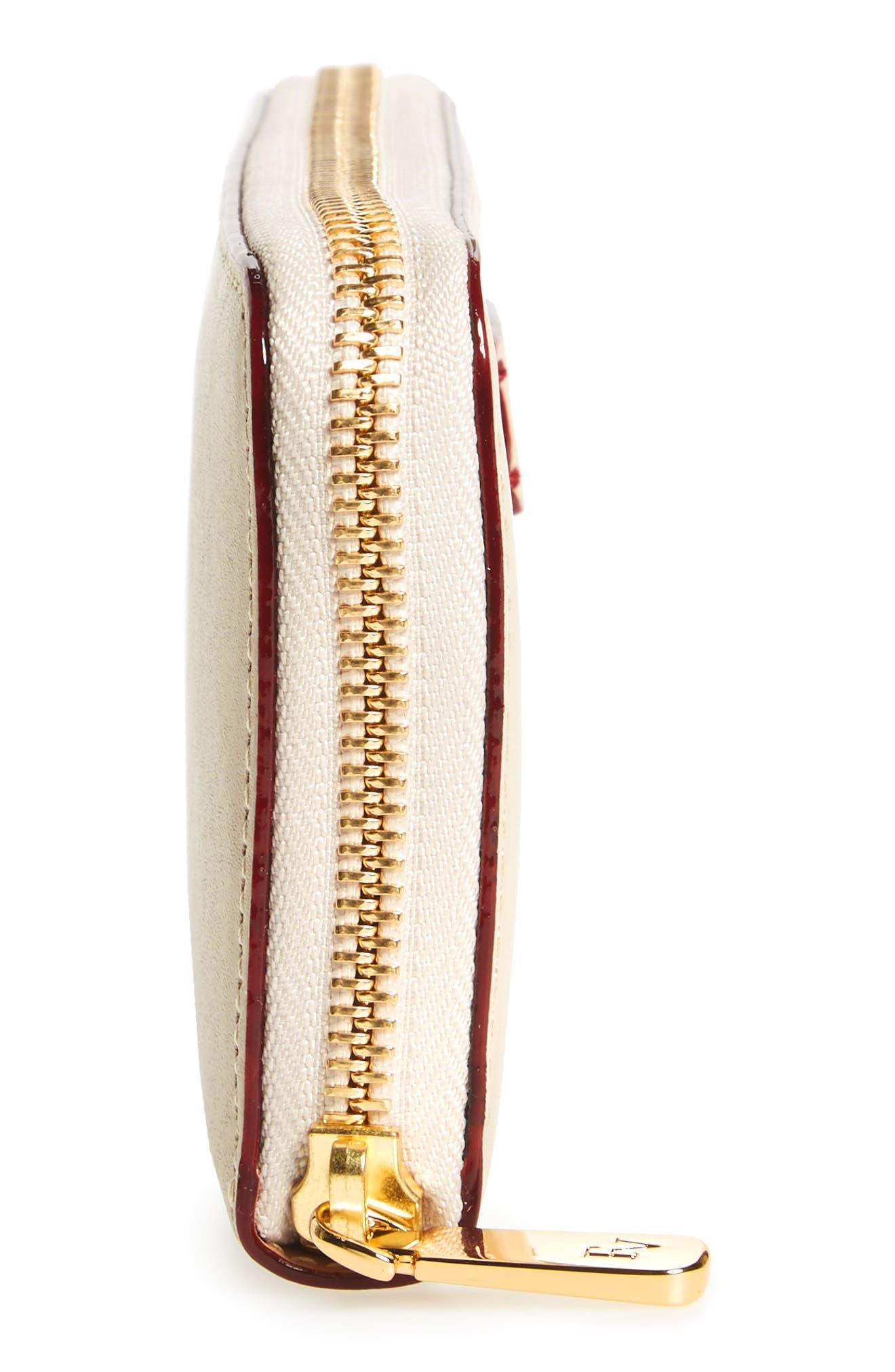 Alternate Image 5  - Frances Valentine Kennedy Calfskin Leather Zip Around Wallet