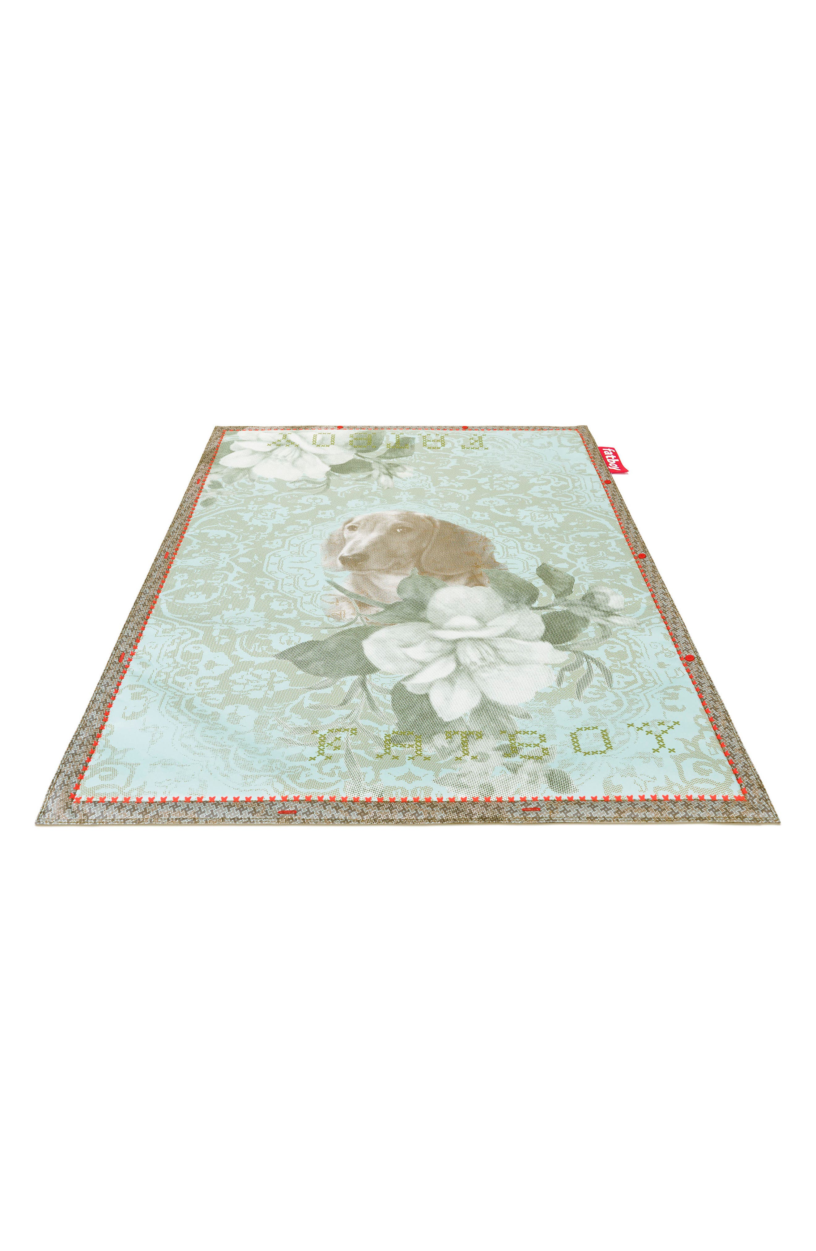 Area Rug,                         Main,                         color, No Dogs Allowed