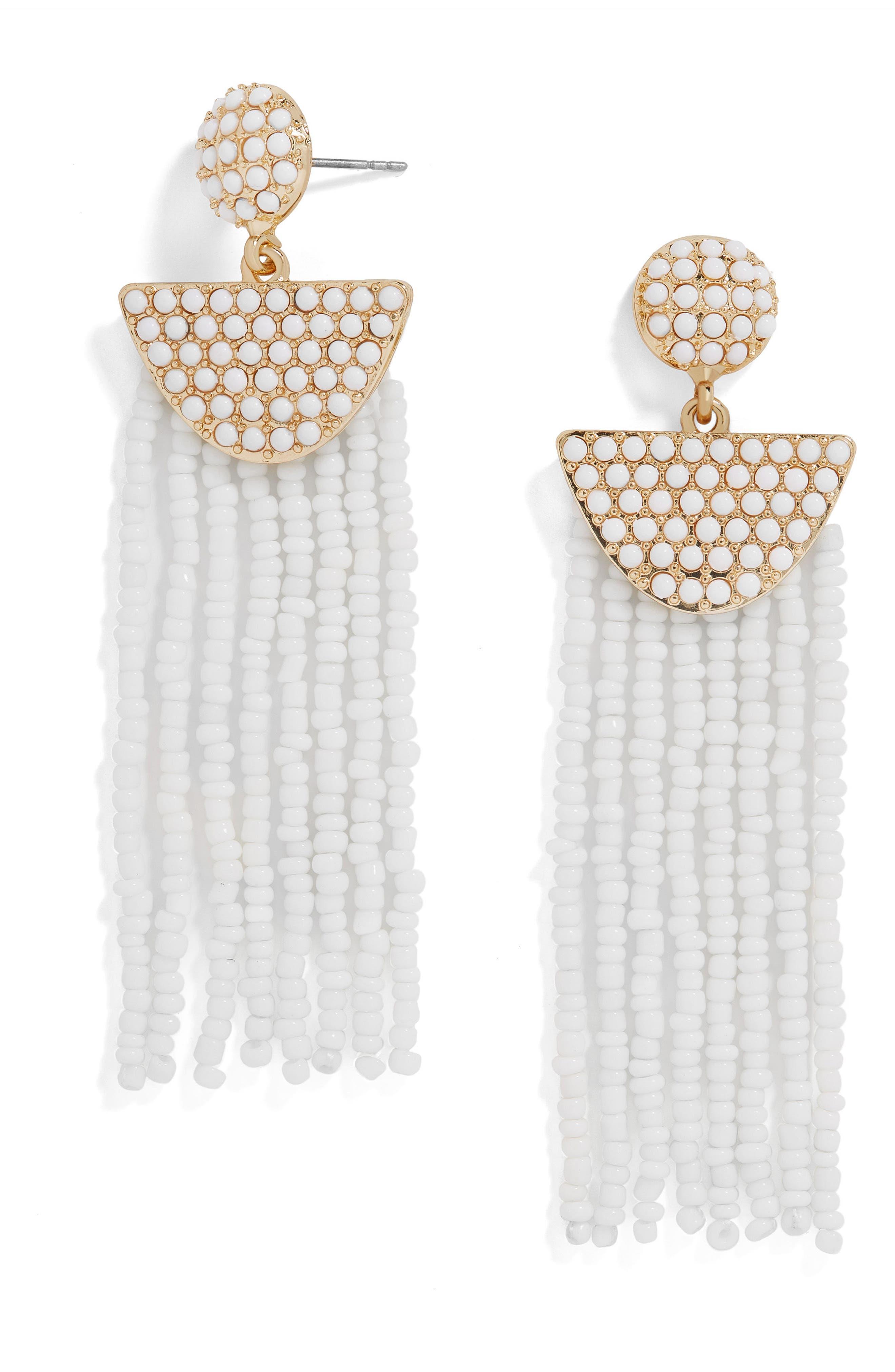 Main Image - BaubleBar Tarot Beaded Deco Drop Earrings