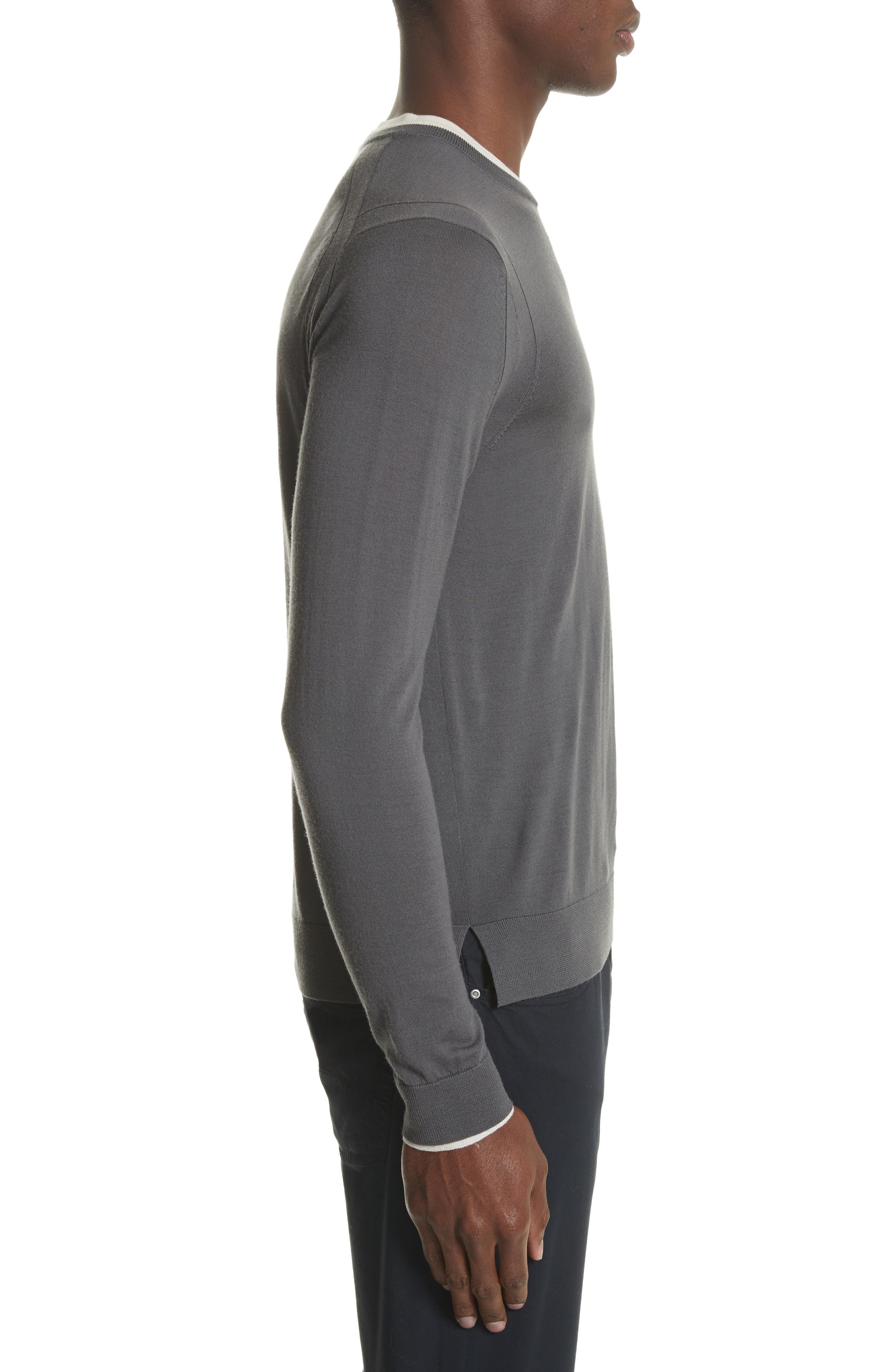 Alternate Image 3  - Emporio Armani Slim Fit Wool Sweater