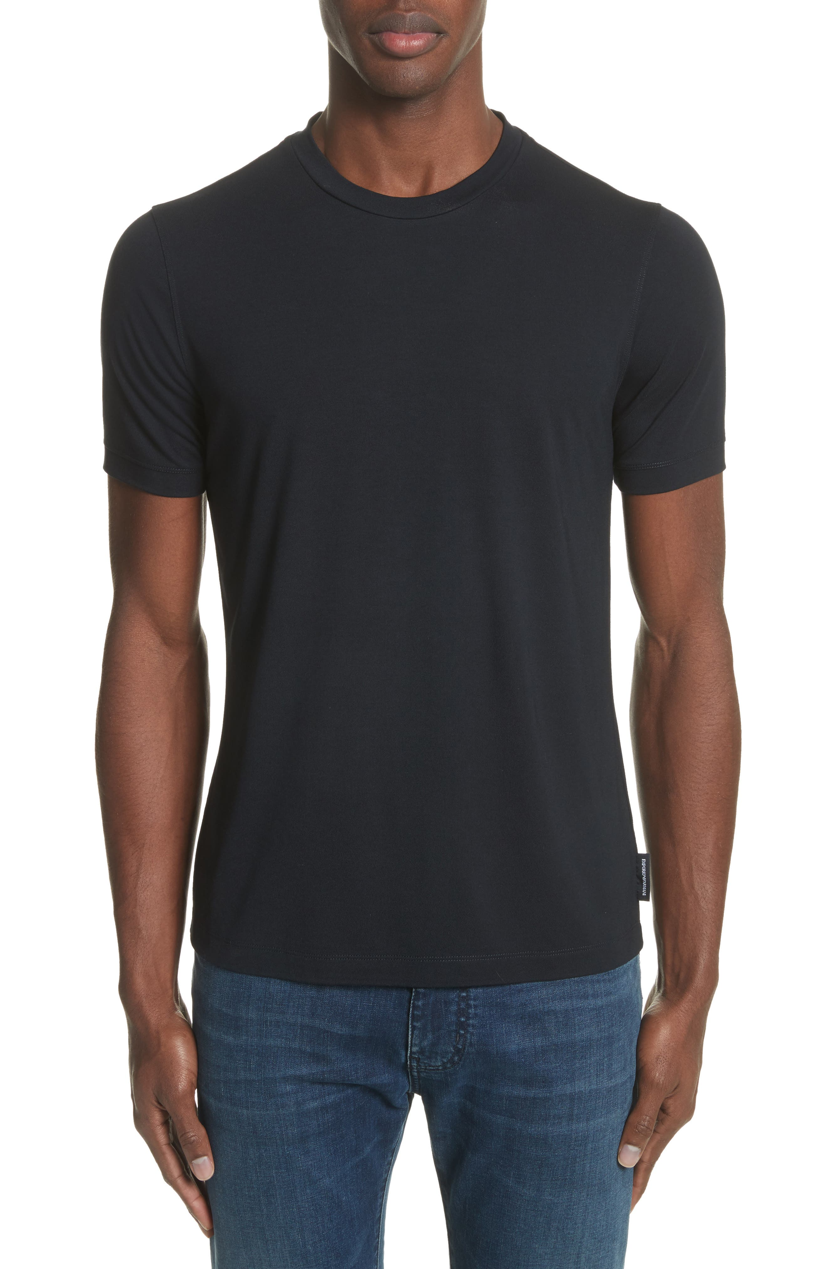 Emporio Armani Slim Fit Stretch Crewneck T-Shirt