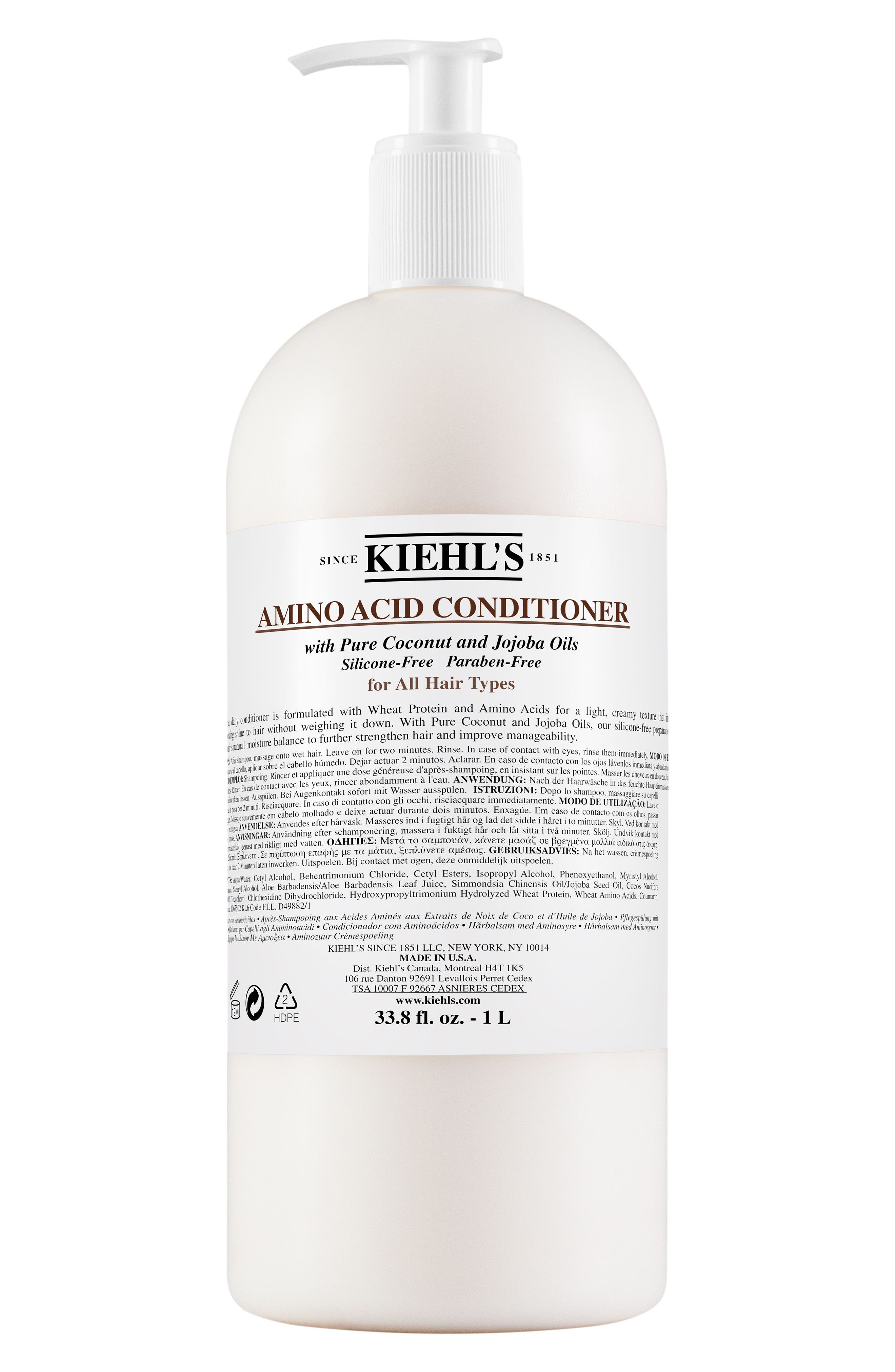 Kiehl's Since 1851 Jumbo Amino Acid Conditioner ($60 Value)
