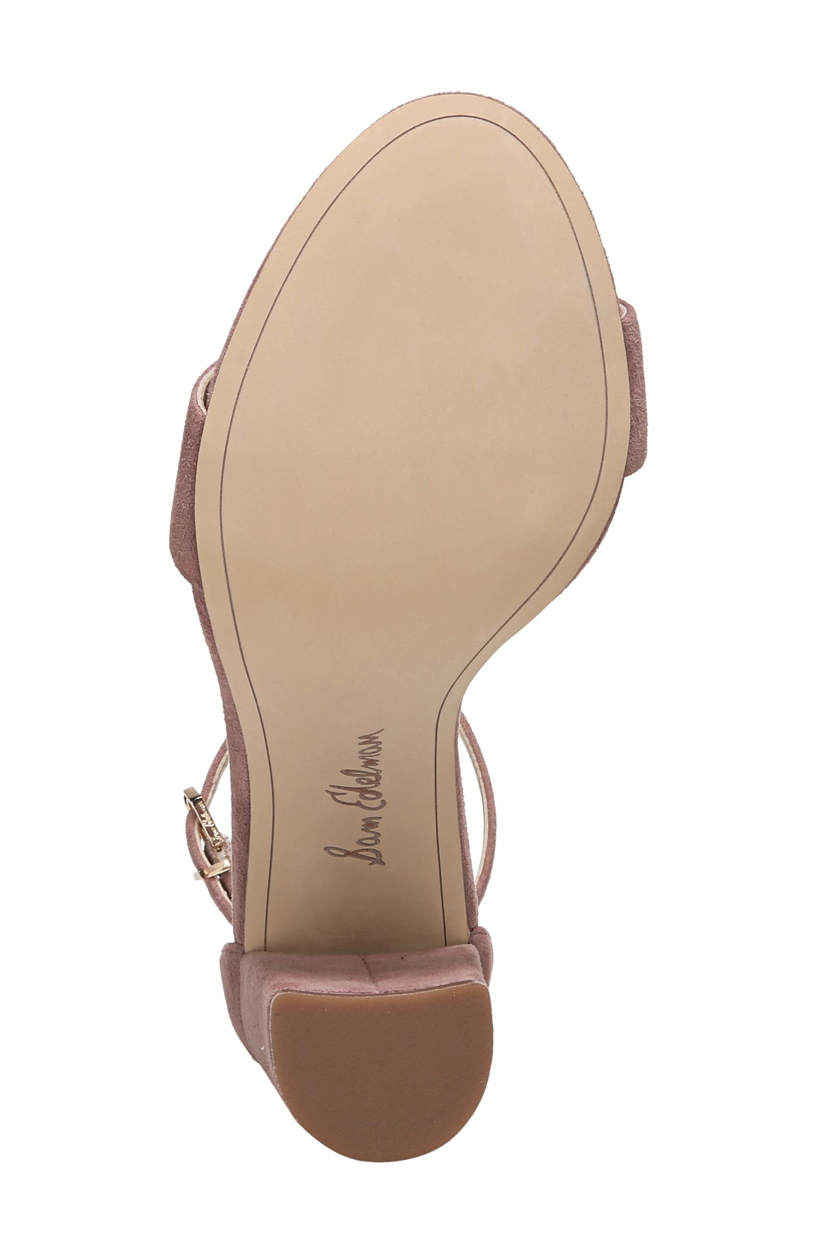 Alternate Image 6  - Sam Edelman Yaro Ankle Strap Sandal (Women)