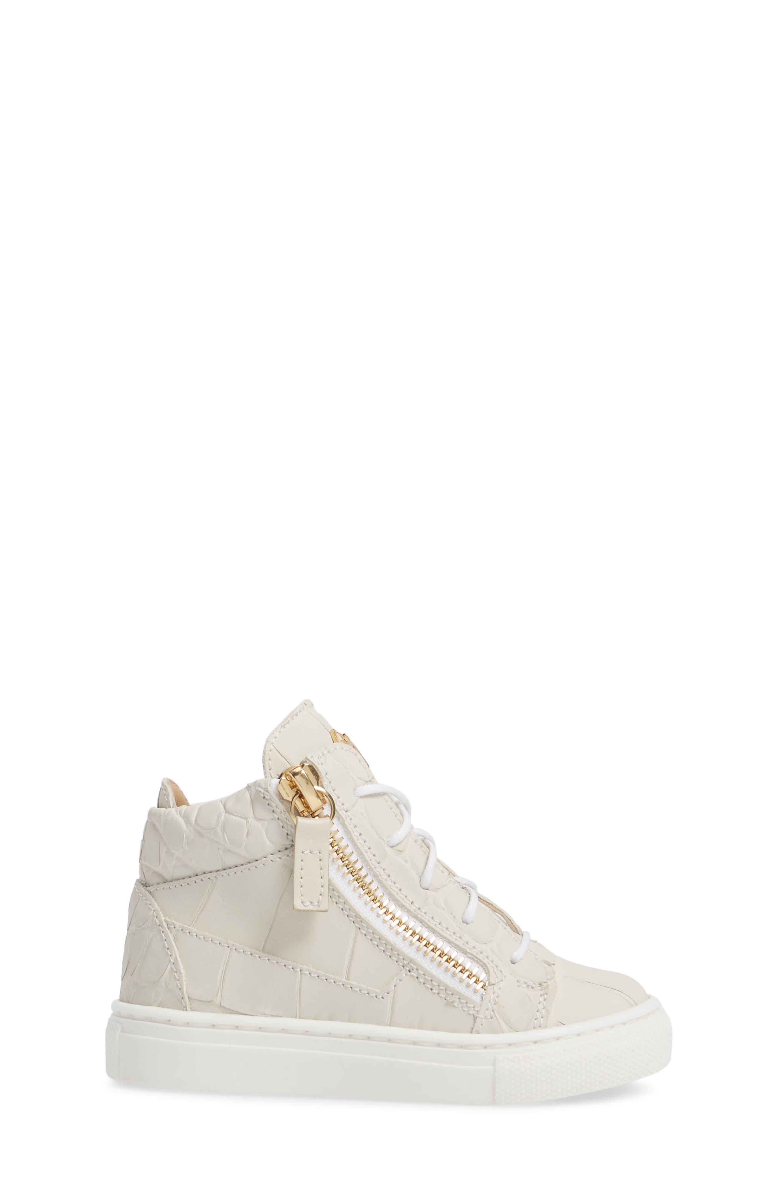 Alternate Image 3  - Giuseppe Zanotti Natalie High Top Sneaker (Baby, Walker, Toddler & Little Kid)